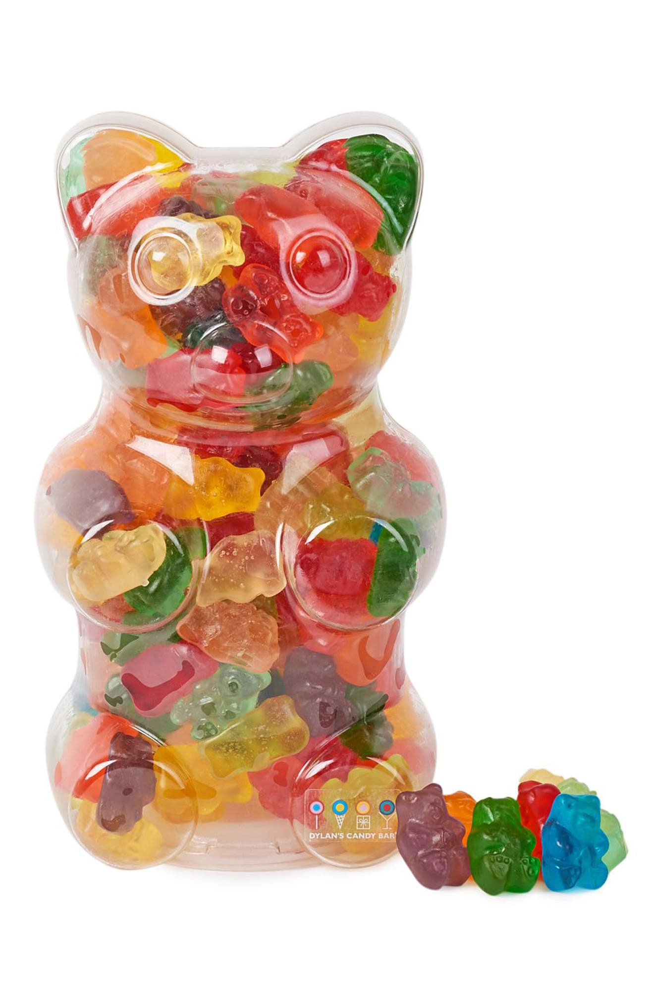 Gummy Bear Bank,                             Main thumbnail 1, color,                             Blue/ Red/ Yellow/ Green