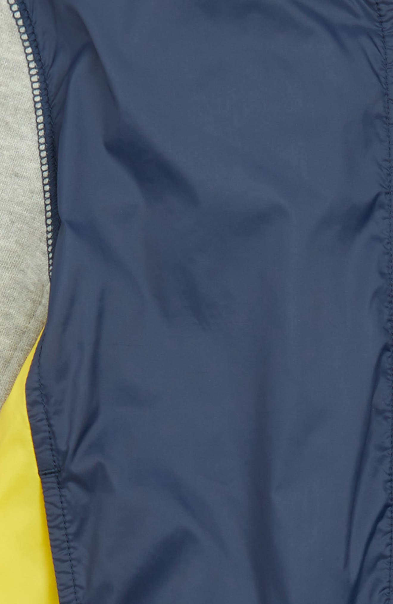 Nylon Jacket,                             Alternate thumbnail 4, color,                             Navy Charcoal