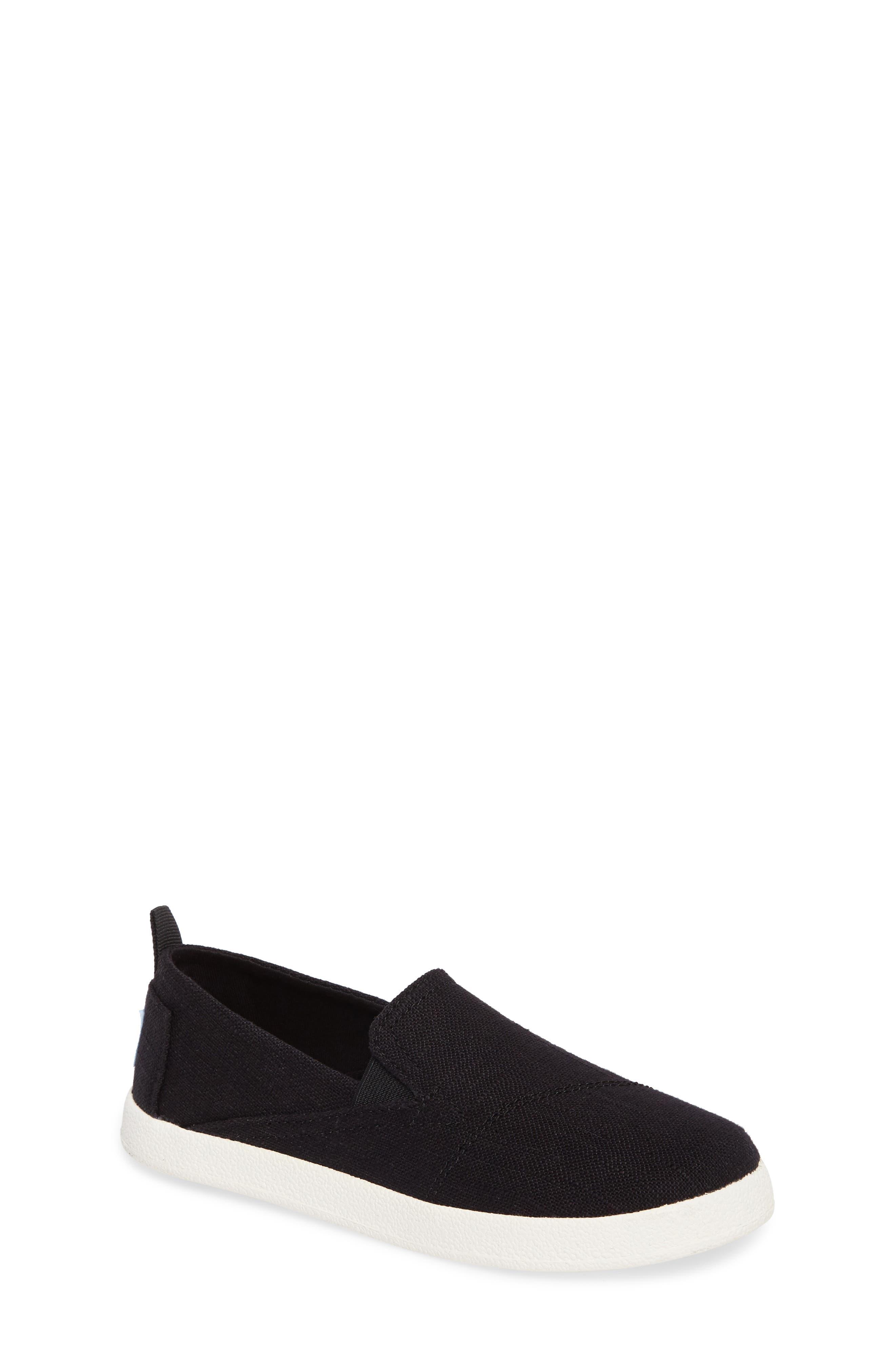 Avalon Slip-On,                         Main,                         color, Black Washed Linen