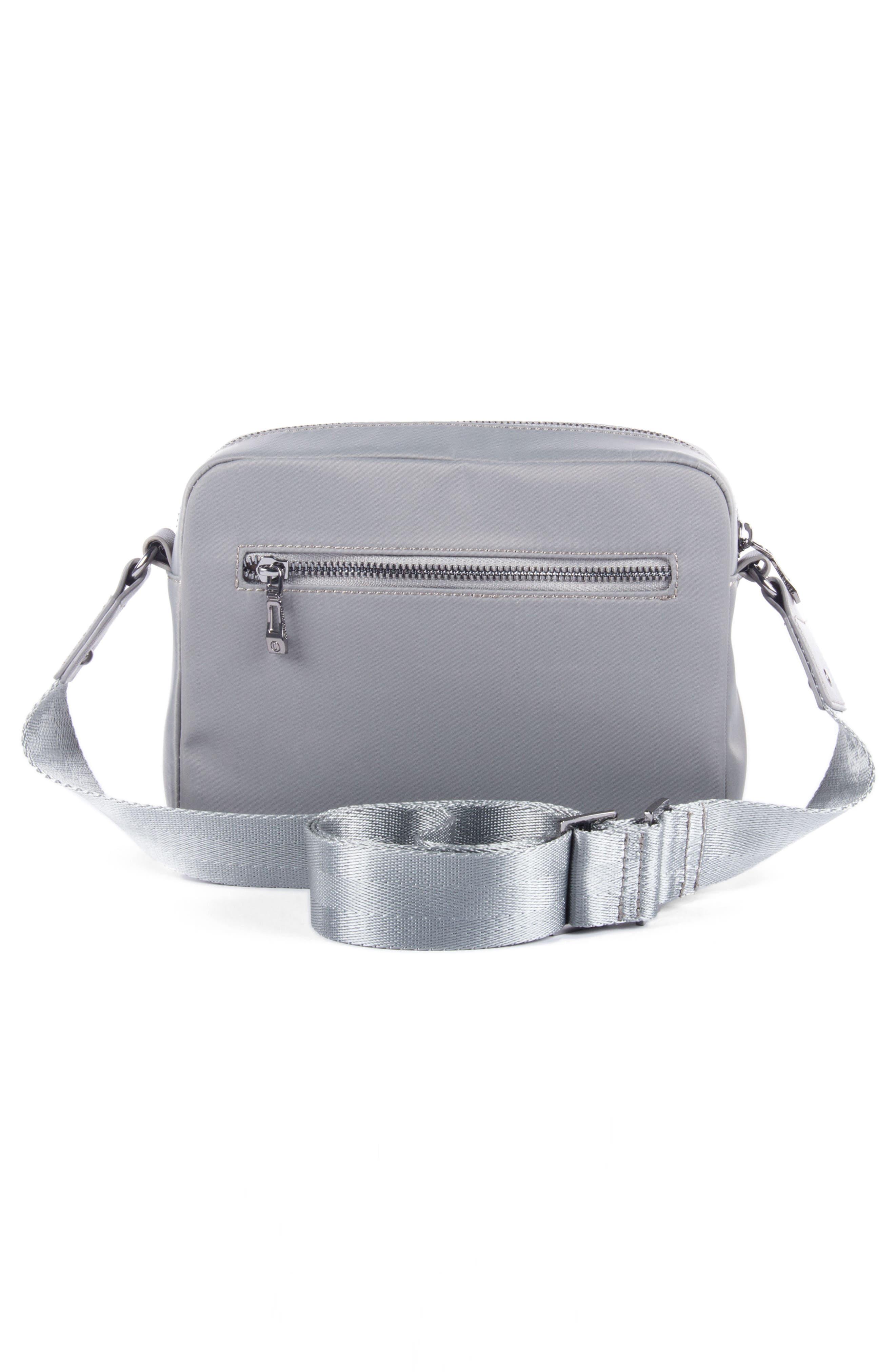 Céline Dion Presto Nylon Crossbody Bag,                             Alternate thumbnail 2, color,                             Grey