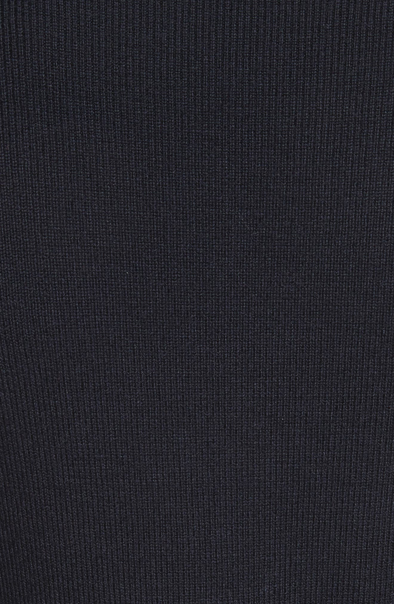 Lara Sweater Dress,                             Alternate thumbnail 5, color,                             Medium Navy