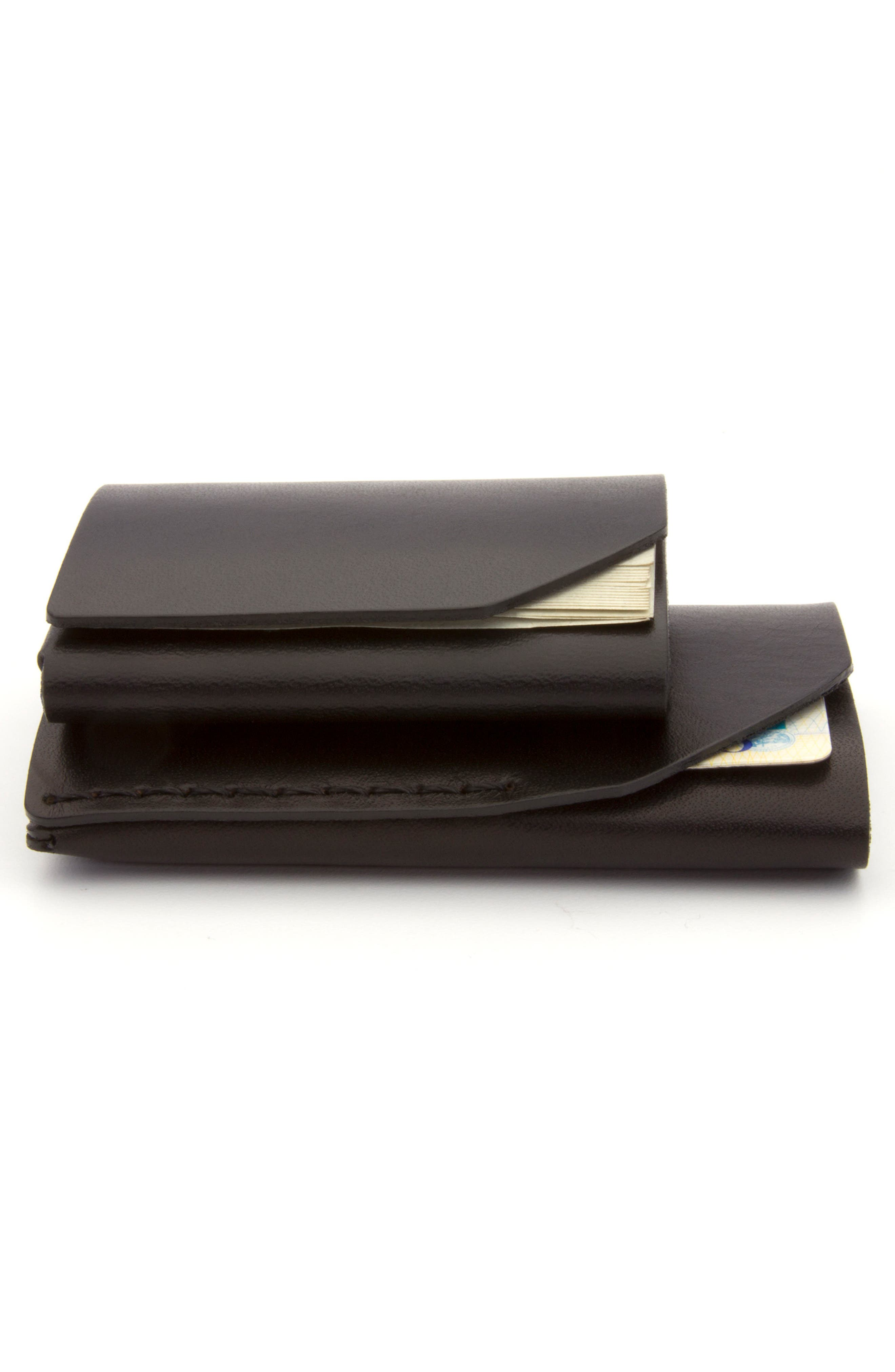 Alternate Image 5  - Ezra Arthur Cash Fold Wallet