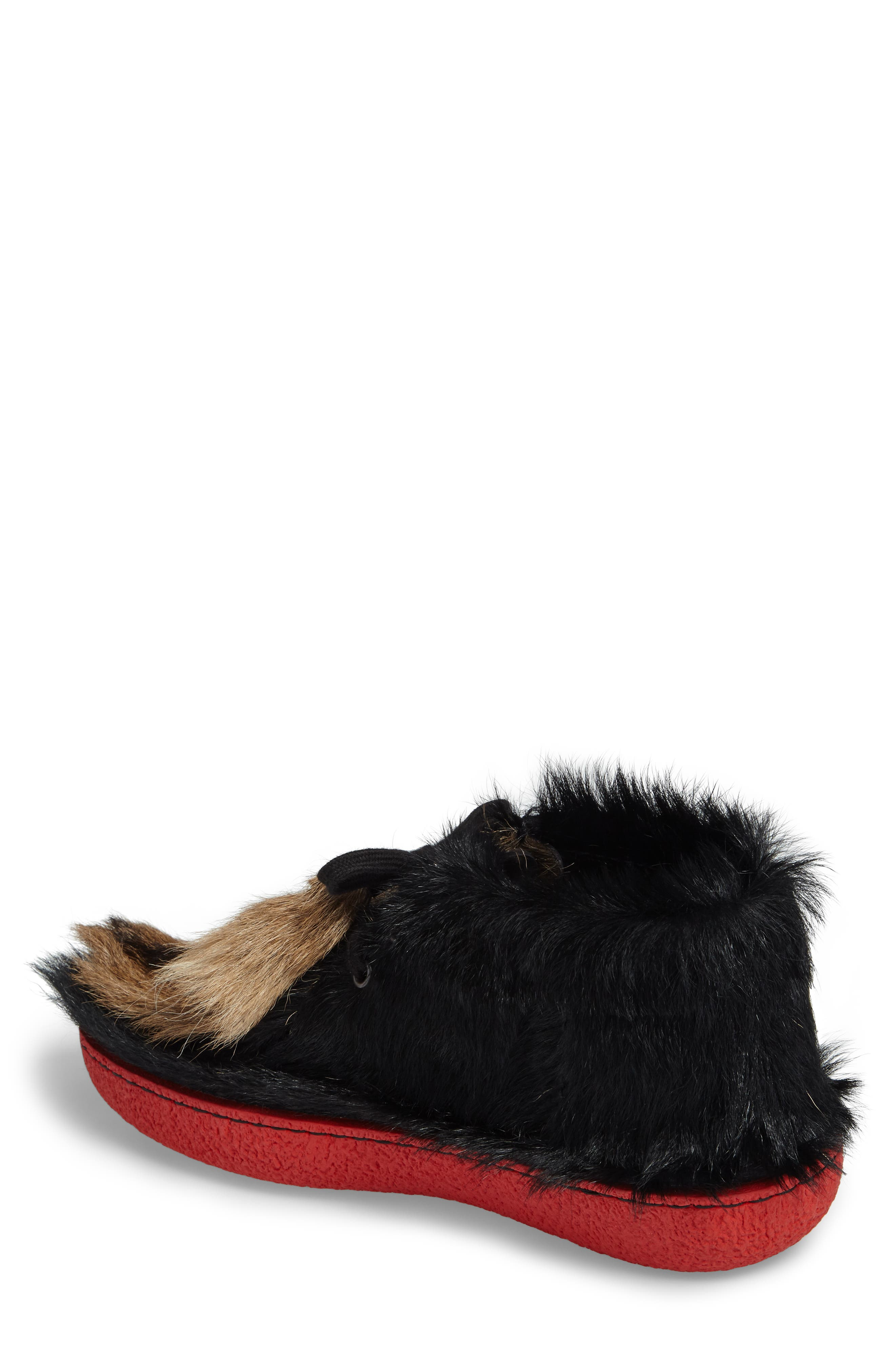 Genuine Calf and Goat Hair Chukka Boot,                             Alternate thumbnail 2, color,                             Nero Multi