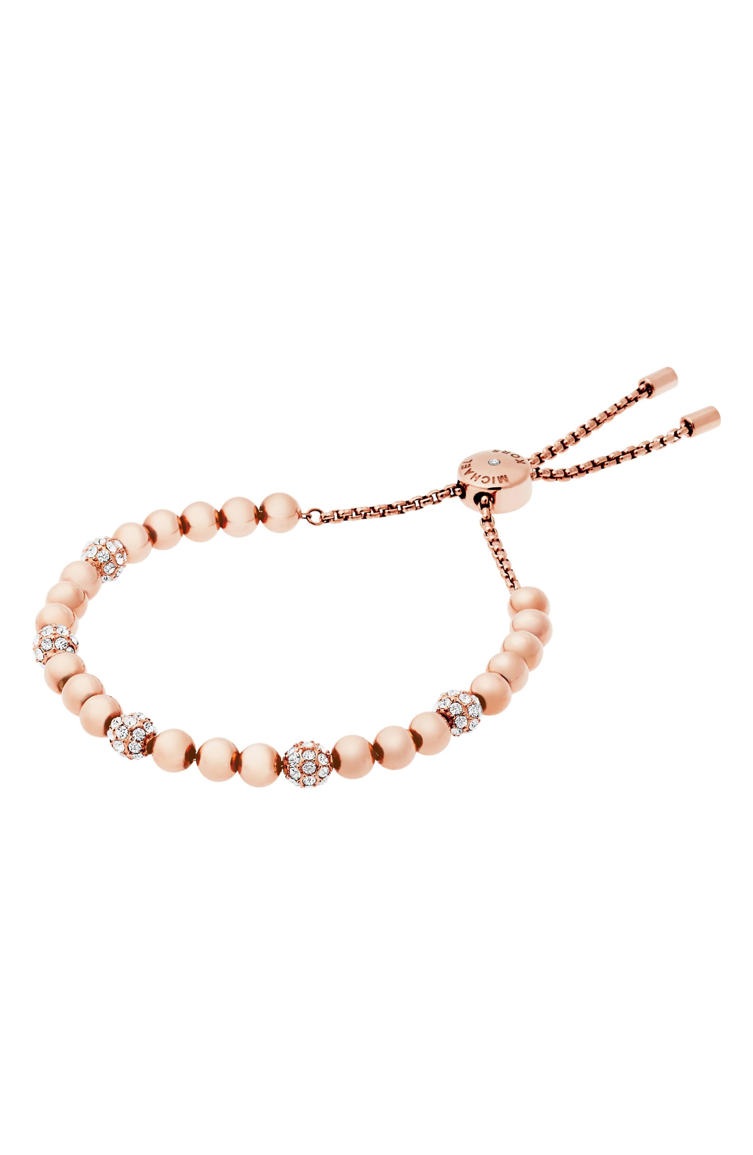 Alternate Image 1 Selected - Michael Kors Beaded Bracelet