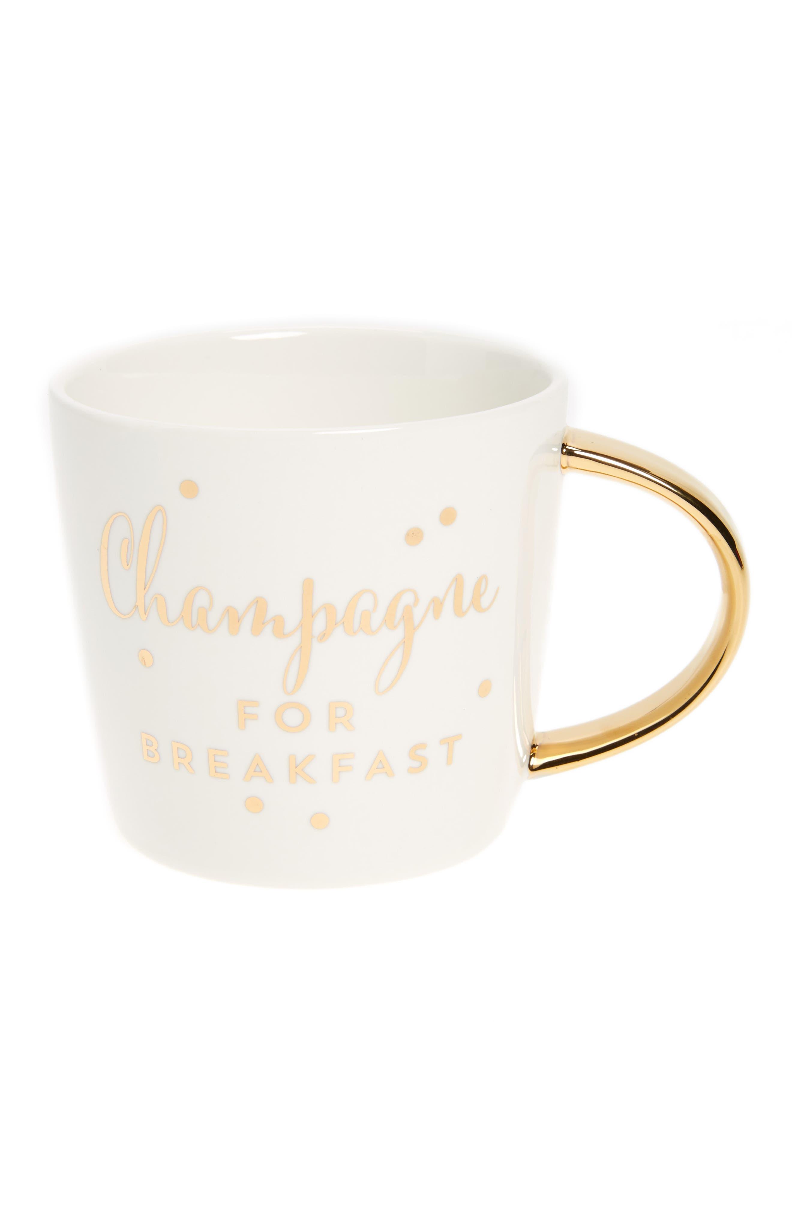 Alternate Image 1 Selected - Slant Collections Champagne For Breakfast Mug