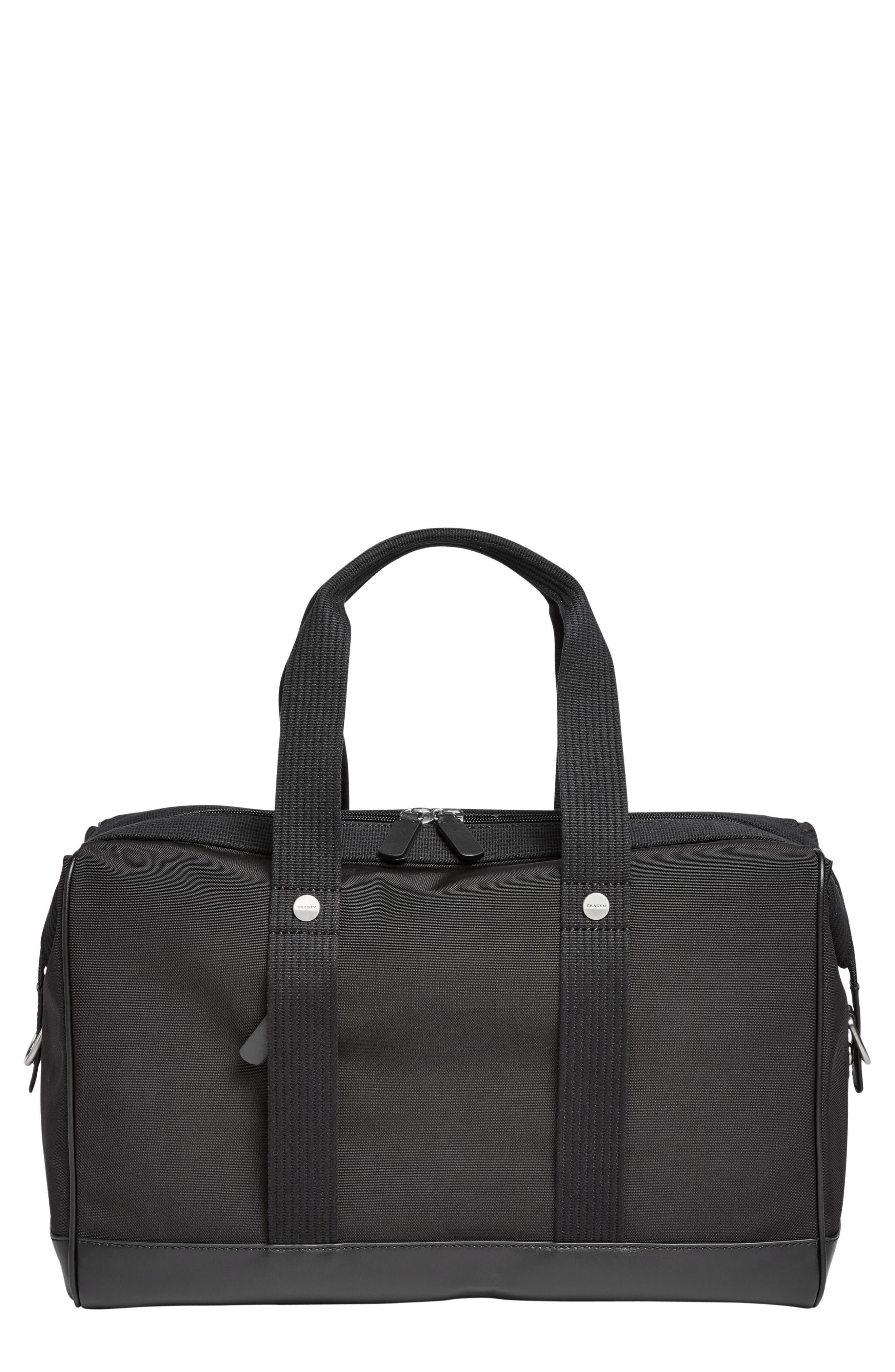 Krinsen Duffel Bag,                             Main thumbnail 1, color,                             Black
