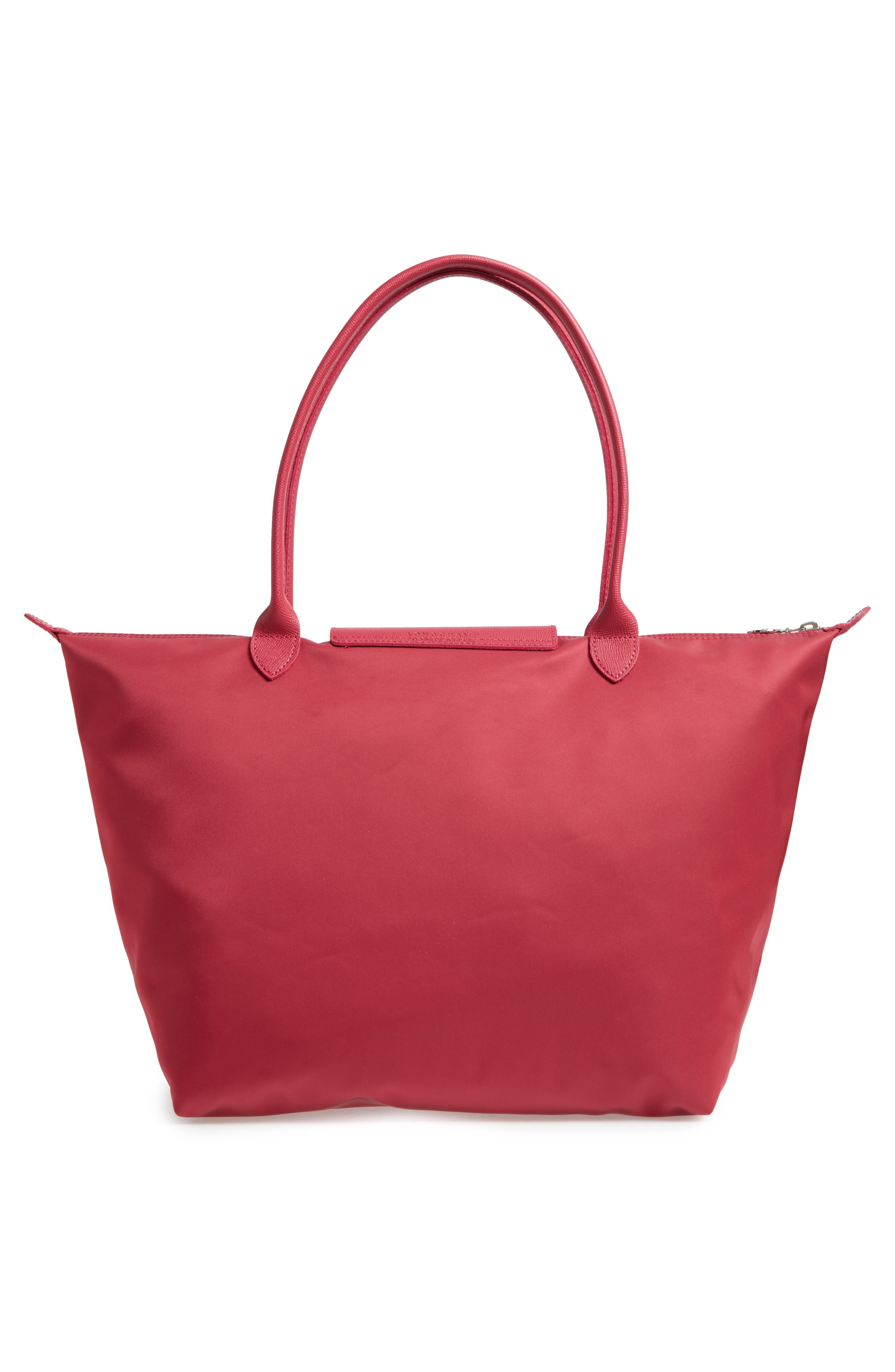 Large Le Pliage Neo Nylon Tote,                             Alternate thumbnail 2, color,                             Raspberry