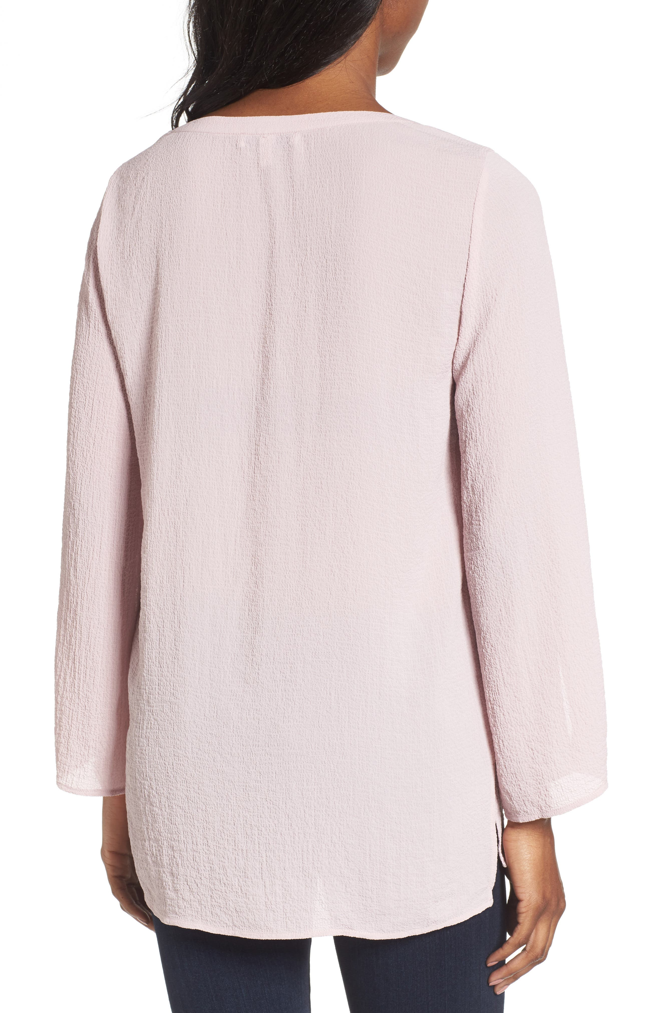 Alternate Image 2  - Chaus Textured Pintuck Blouse