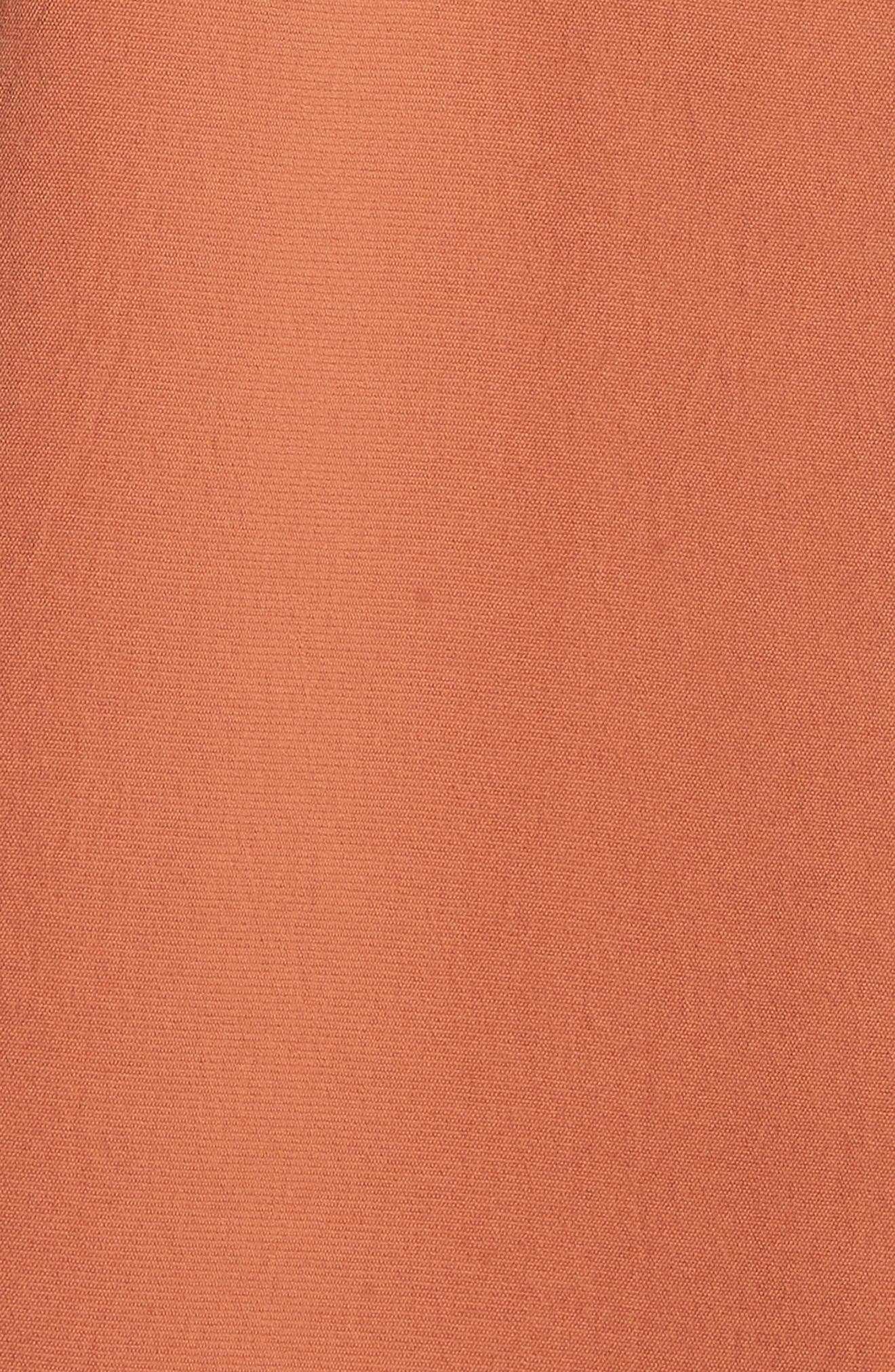 Alternate Image 5  - Tibi Draped Twill Trench Coat