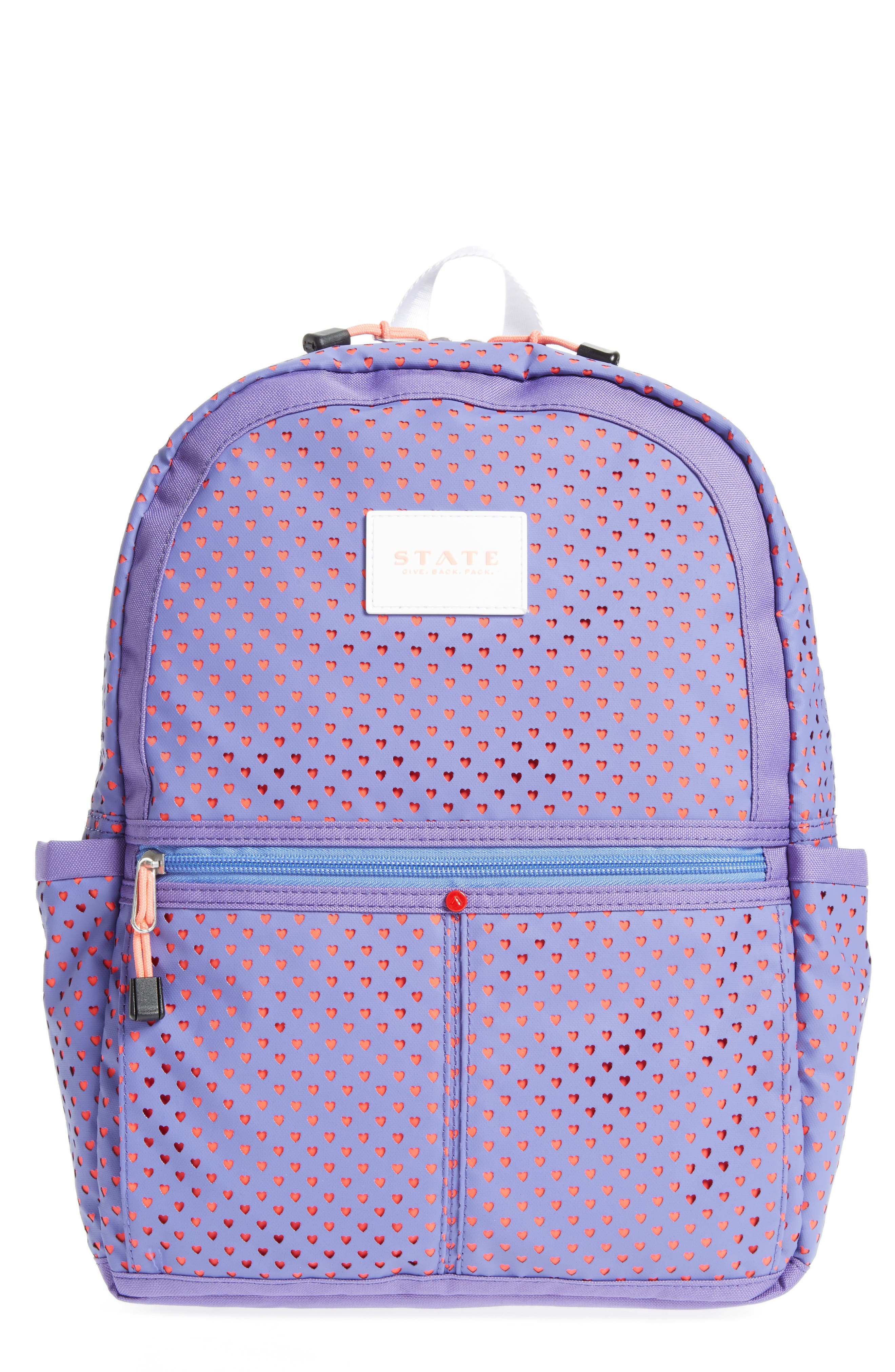 STATE Bags Perforated Hearts Kane Backpack (Kids)