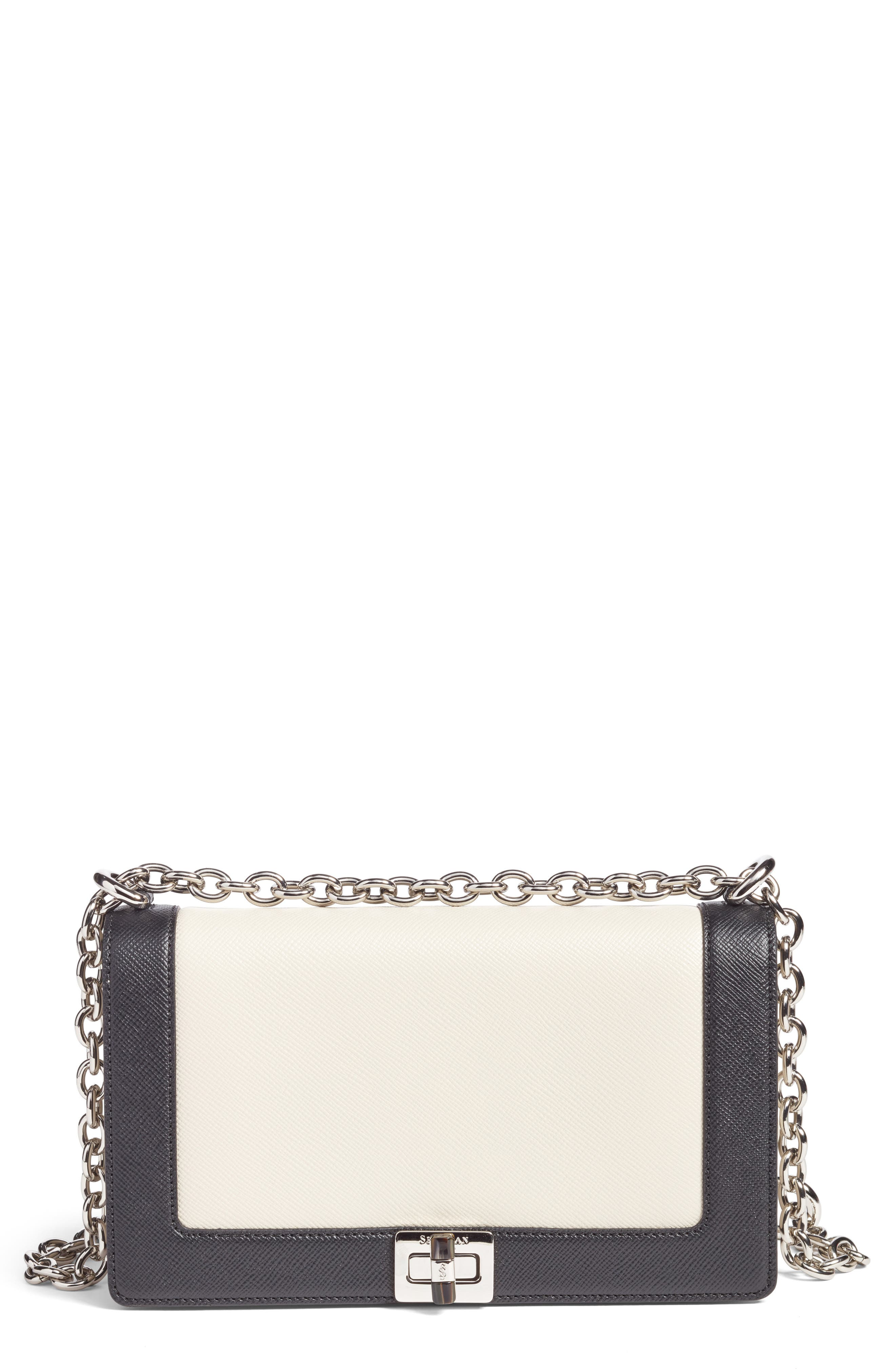 Main Image - Serapian Milano Roberta Evolution Leather Crossbody Bag
