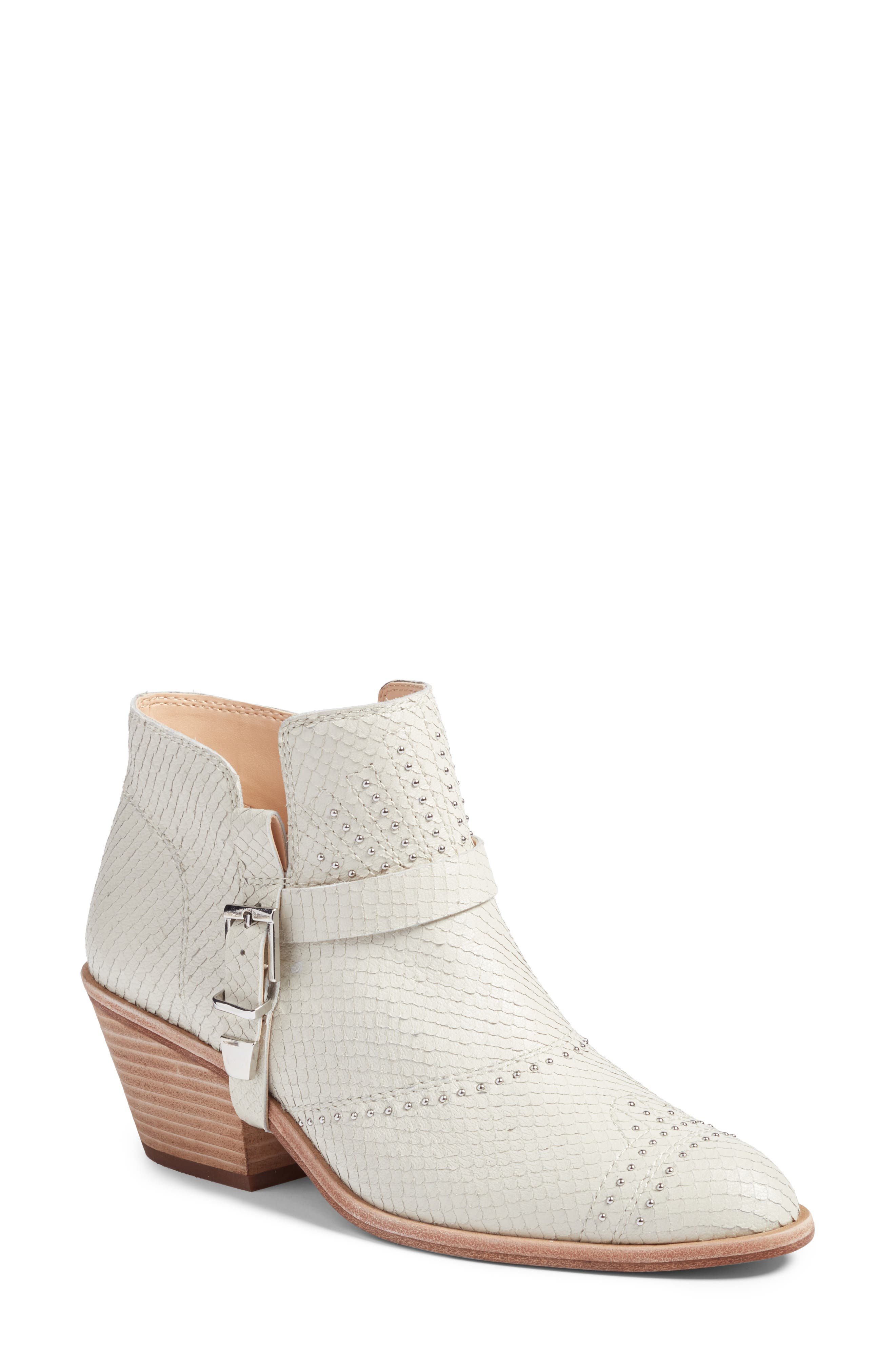 Dorintina Bootie,                             Main thumbnail 1, color,                             White Fox Trot