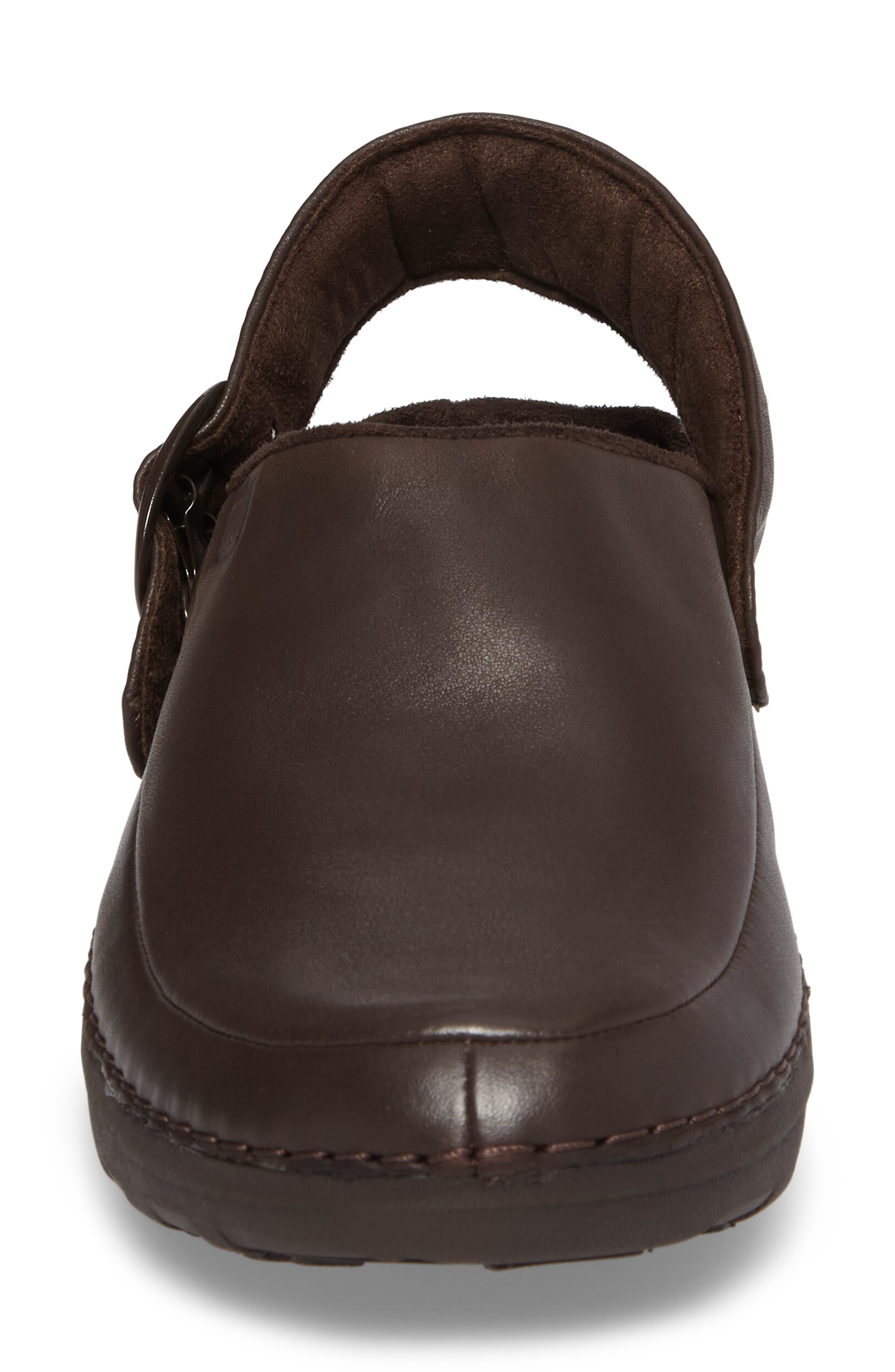 Gogh Pro - Superlight Clog,                             Alternate thumbnail 4, color,                             Chocolate Brown Leather