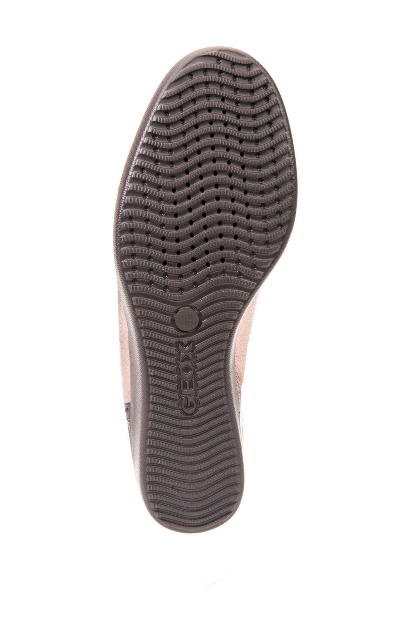 Alternate Image 6  - Geox Stardust Wedge Sneaker (Women)