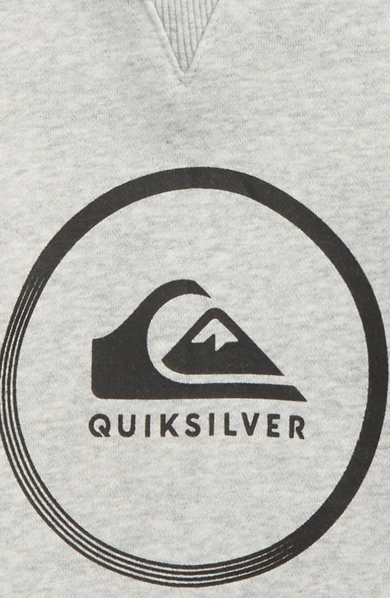 Alternate Image 2  - Quiksilver Logo Hoodie (Toddler Boys & Little Boys)