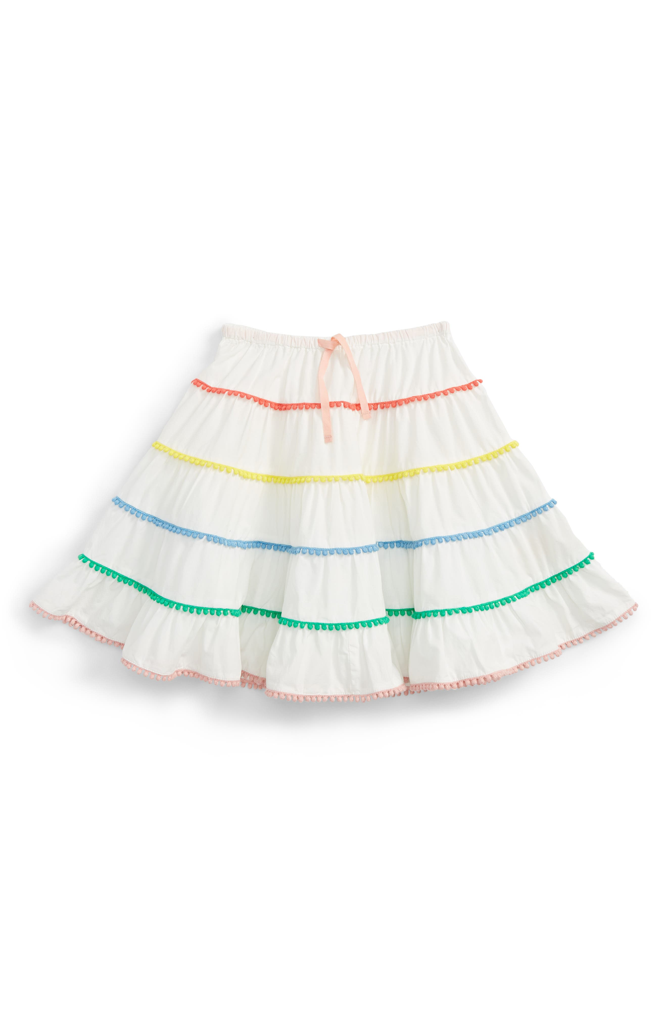 Mini Boden Twirly Tiered Skirt (Toddler Girls, Little Girls & Big Girls)