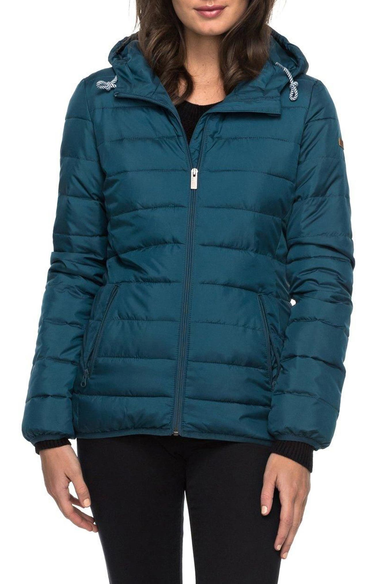 Forever Freely Puffer Jacket,                             Main thumbnail 1, color,                             Reflecting Pond