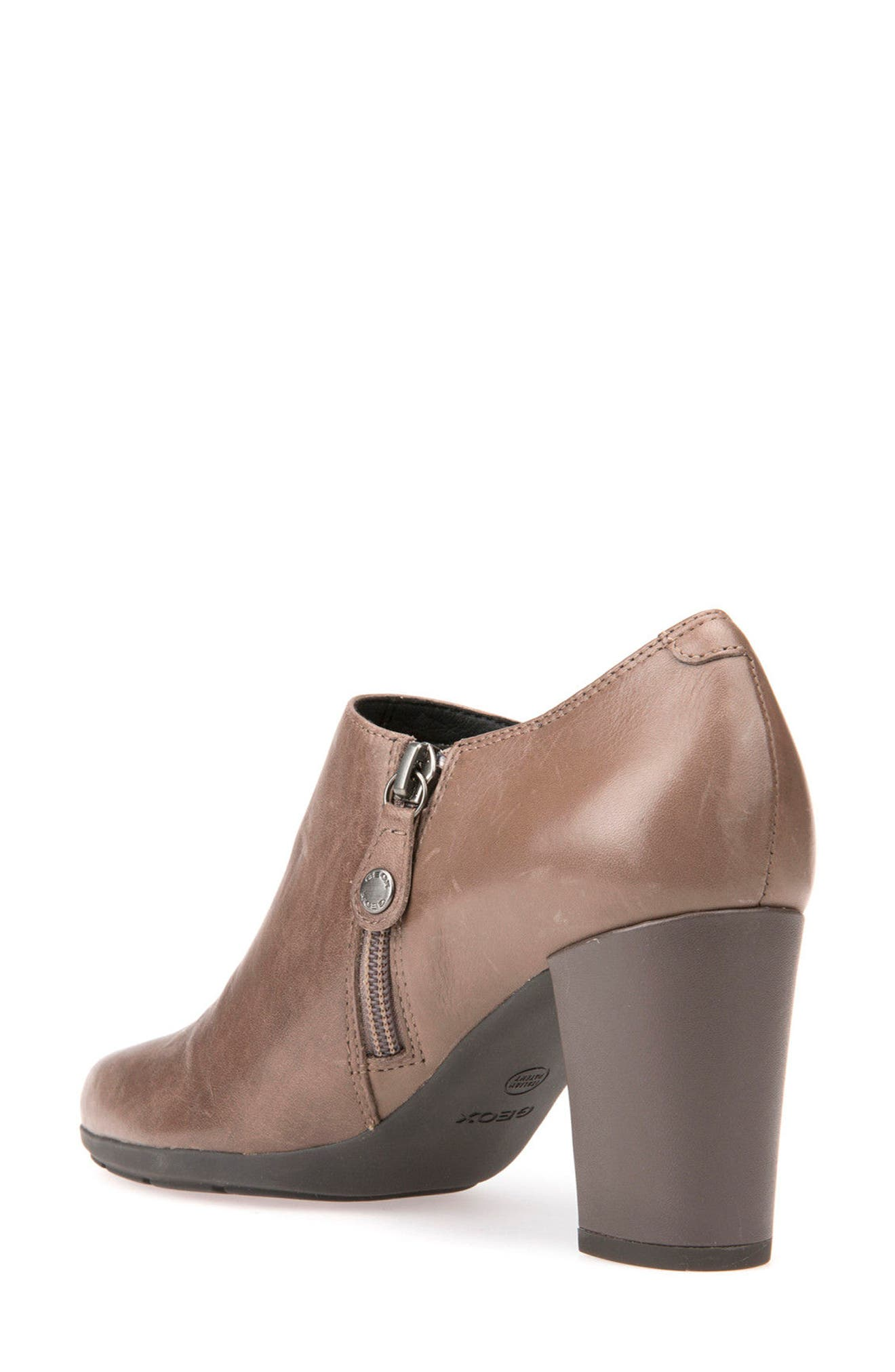 Annya Bootie,                             Alternate thumbnail 2, color,                             Taupe Leather