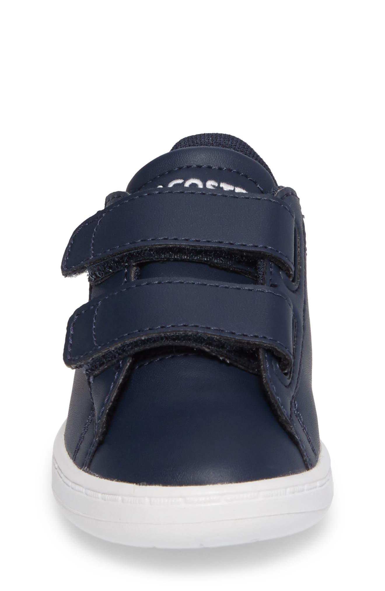 Alternate Image 4  - Lacoste Carnaby Evo Sneaker (Baby, Walker, Toddler & Little Kid)