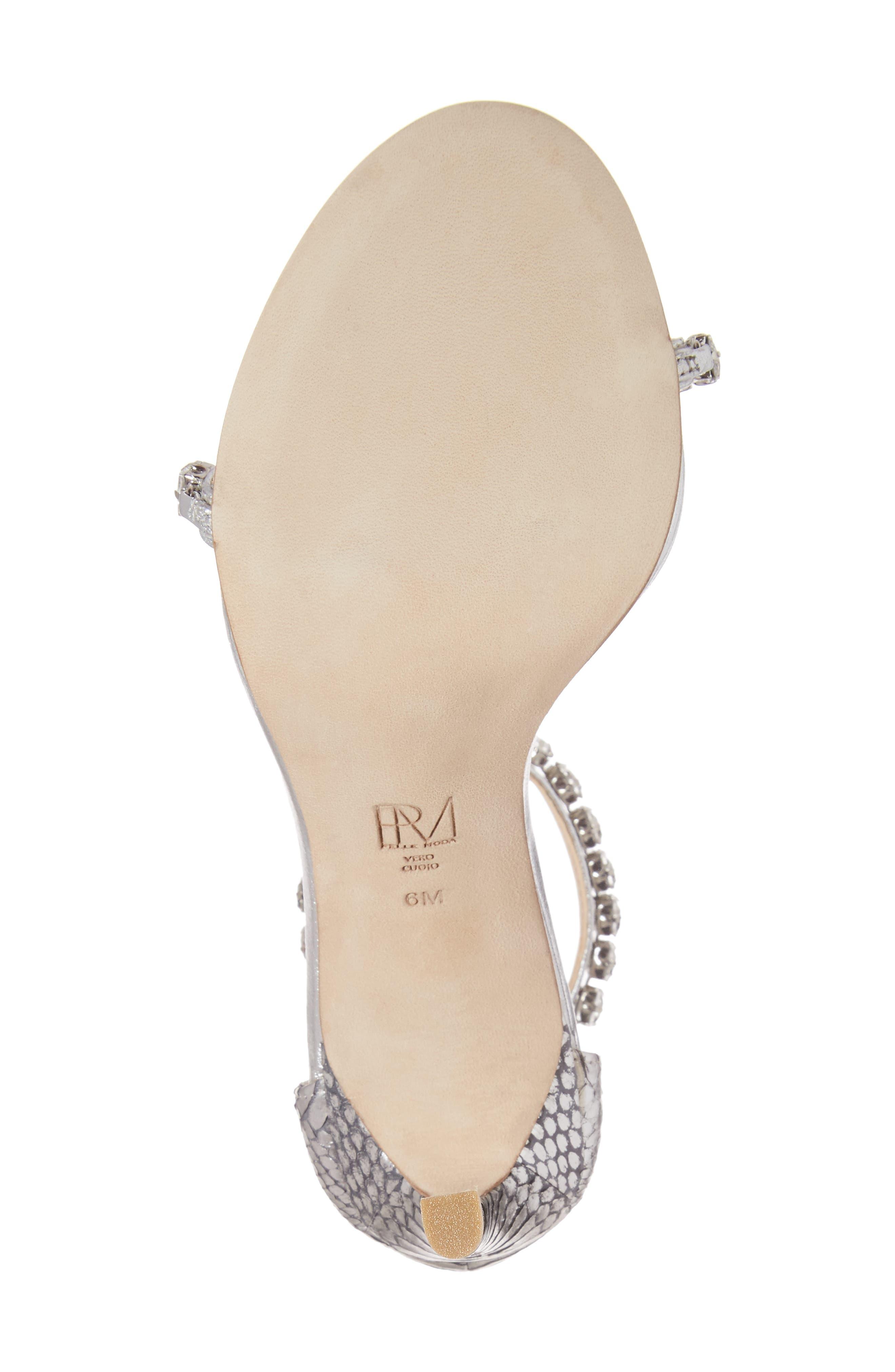 Alternate Image 6  - Pelle Moda Frisk Embellished Sandal (Women)