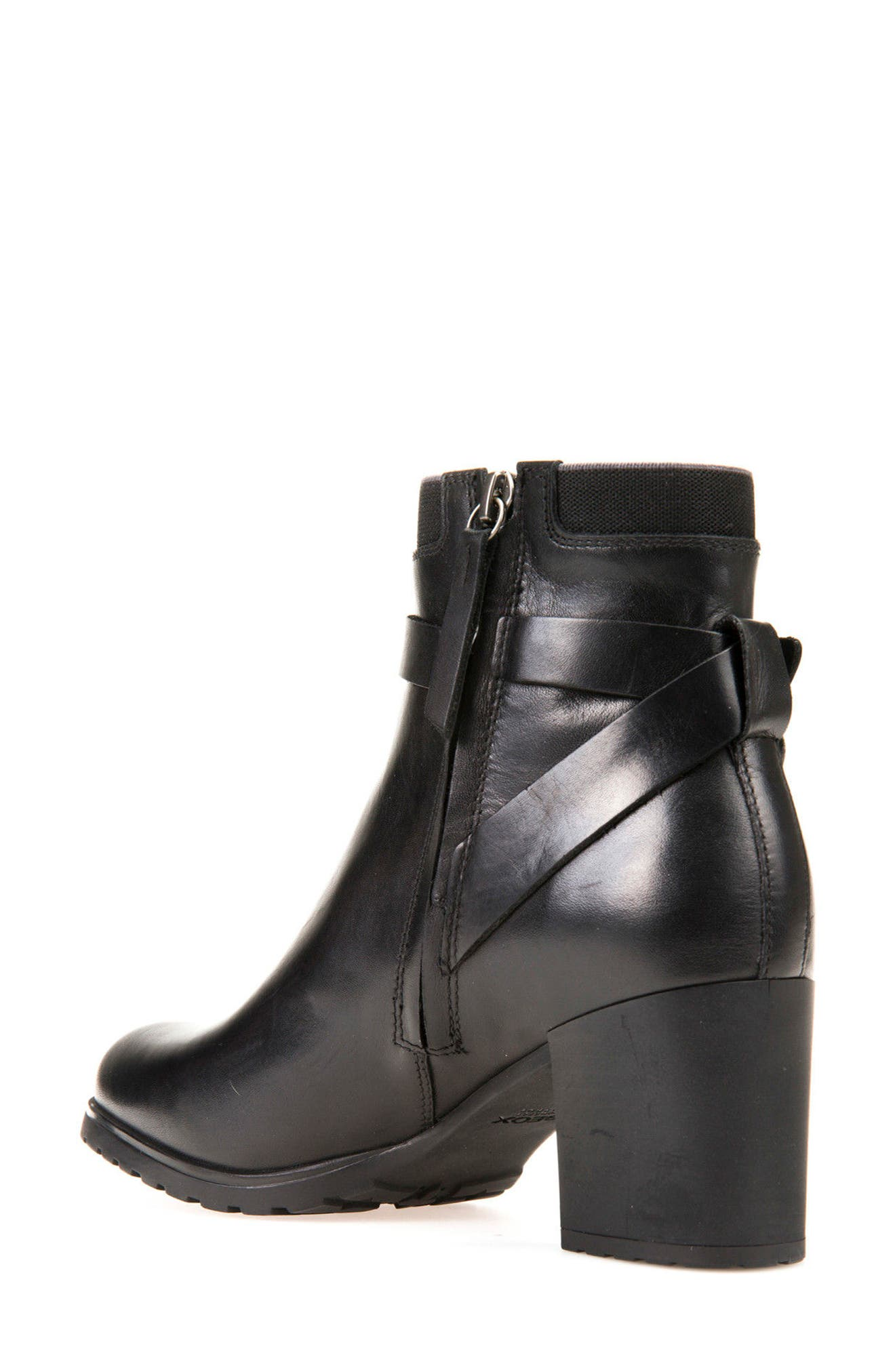 Nelisen ABX Waterproof Bootie,                             Alternate thumbnail 2, color,                             Black Leather