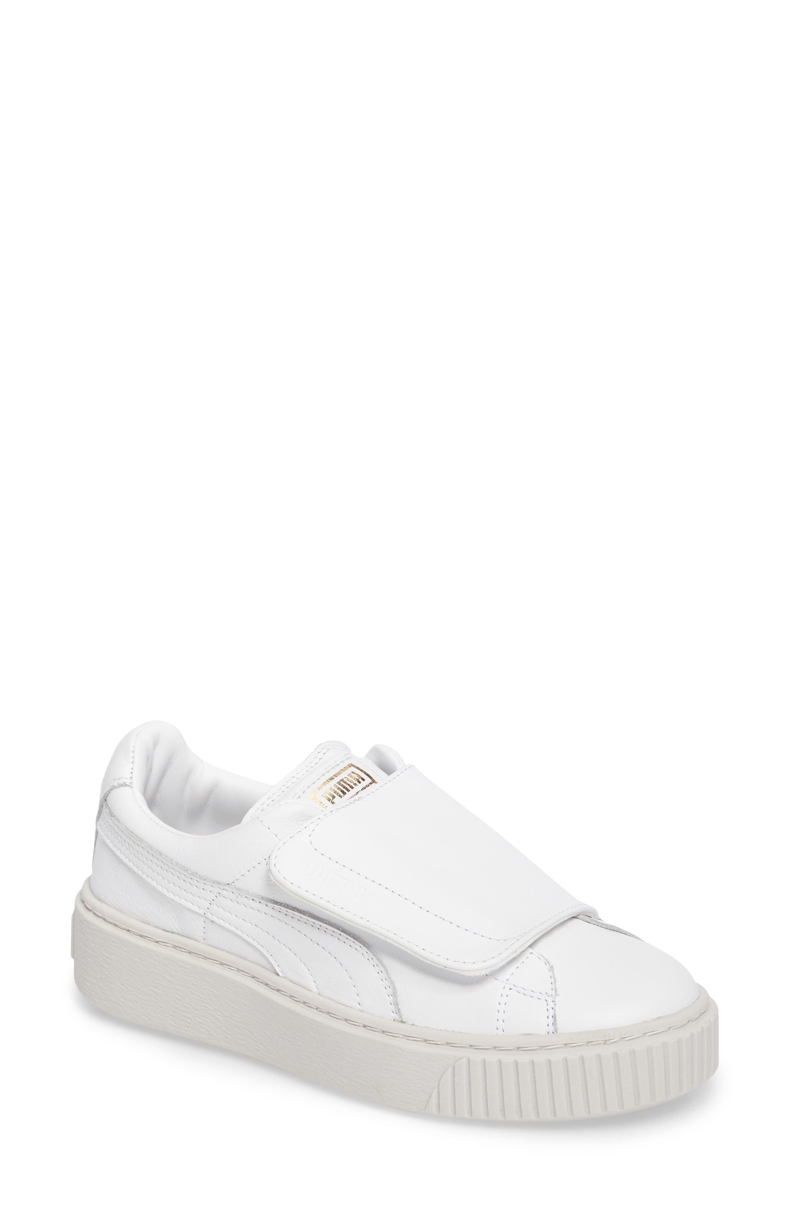 PUMA Basket Platform Sneaker (Women)