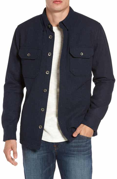 Men's Shirt Jackets: Flannel, Wool & Denim | Nordstrom