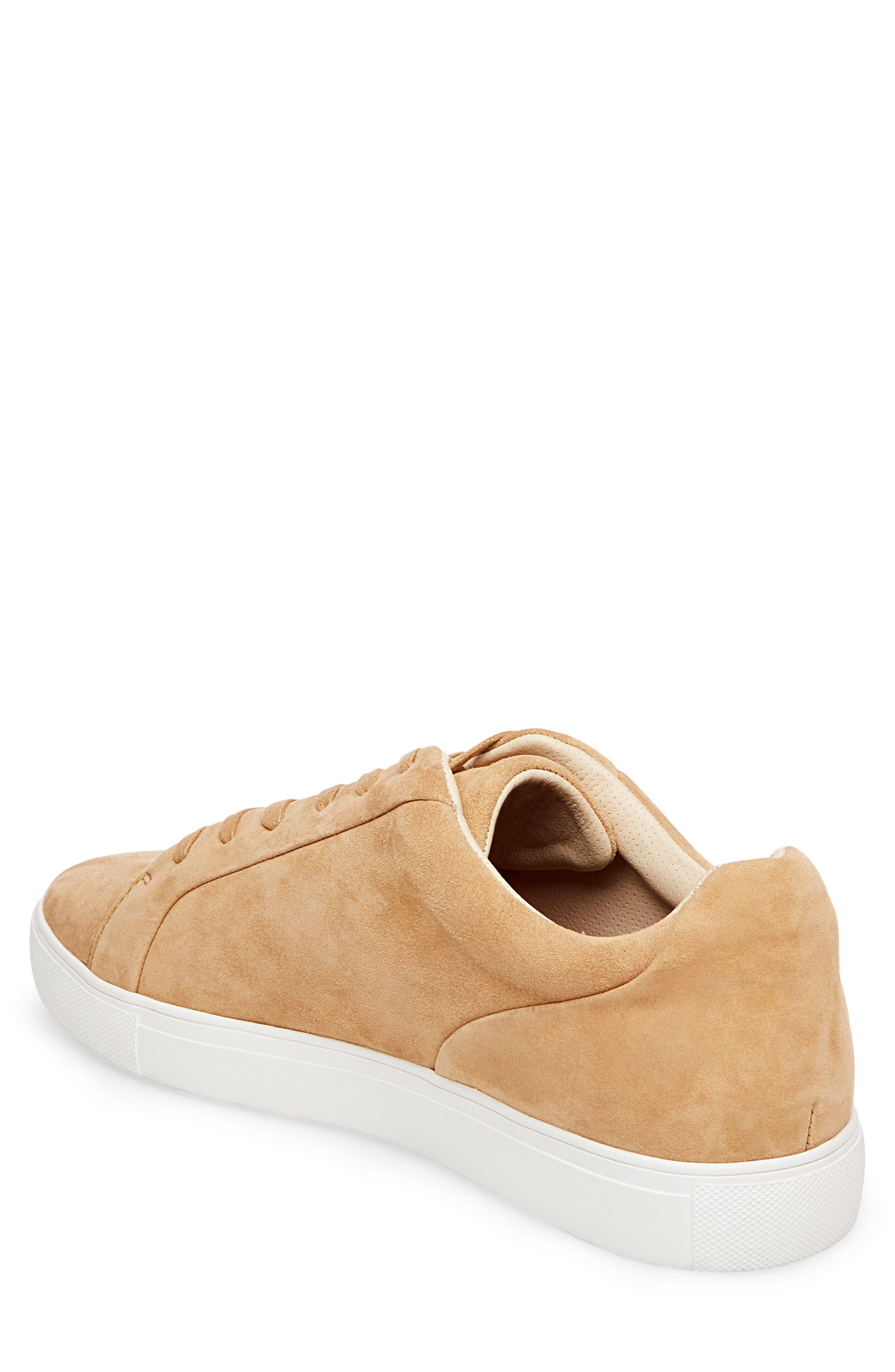 x GQ James Sneaker,                             Alternate thumbnail 2, color,                             Tan Suede