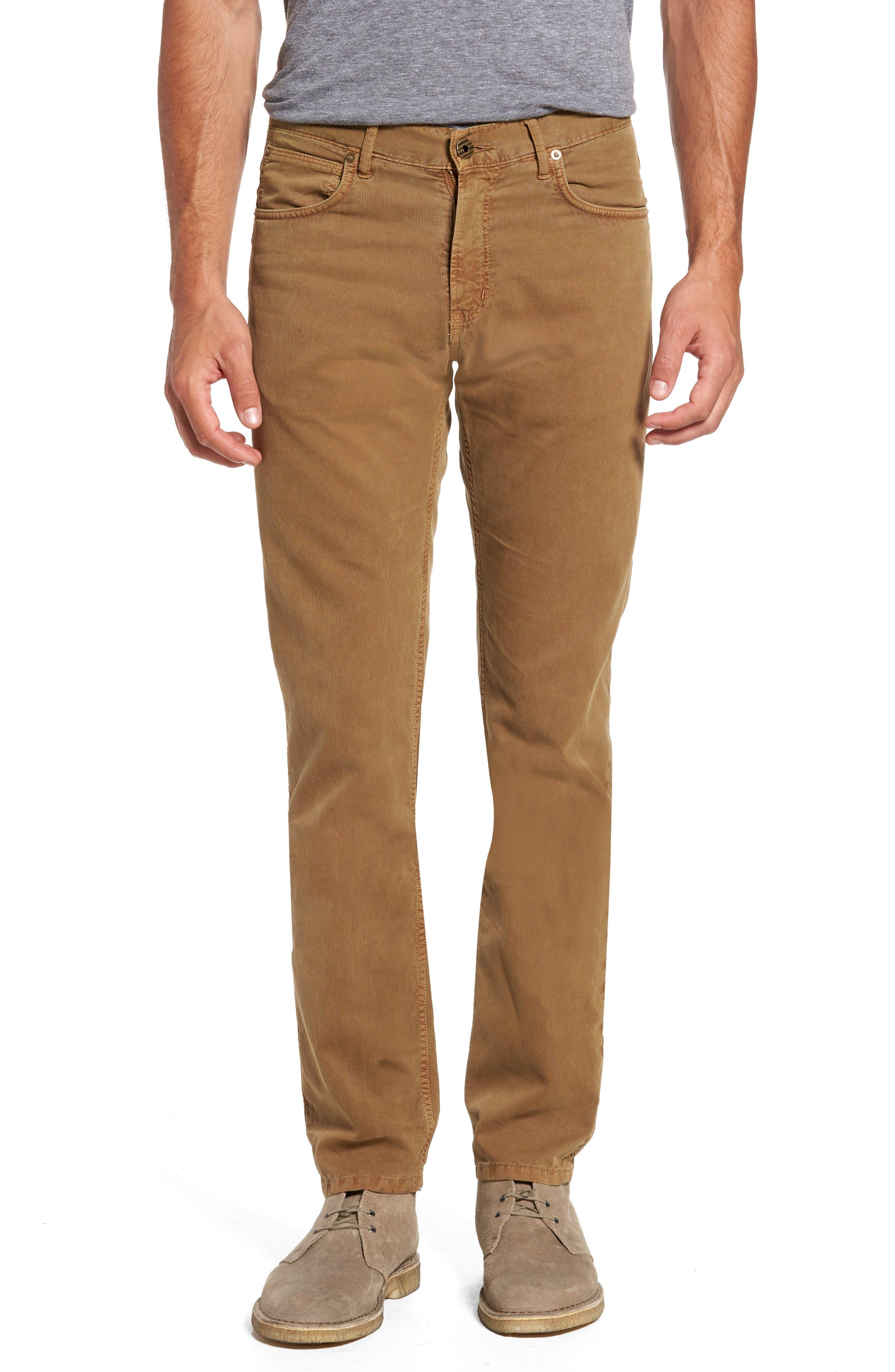 Main Image - Billy Reid Slim Straight Fit Corduroy Pants