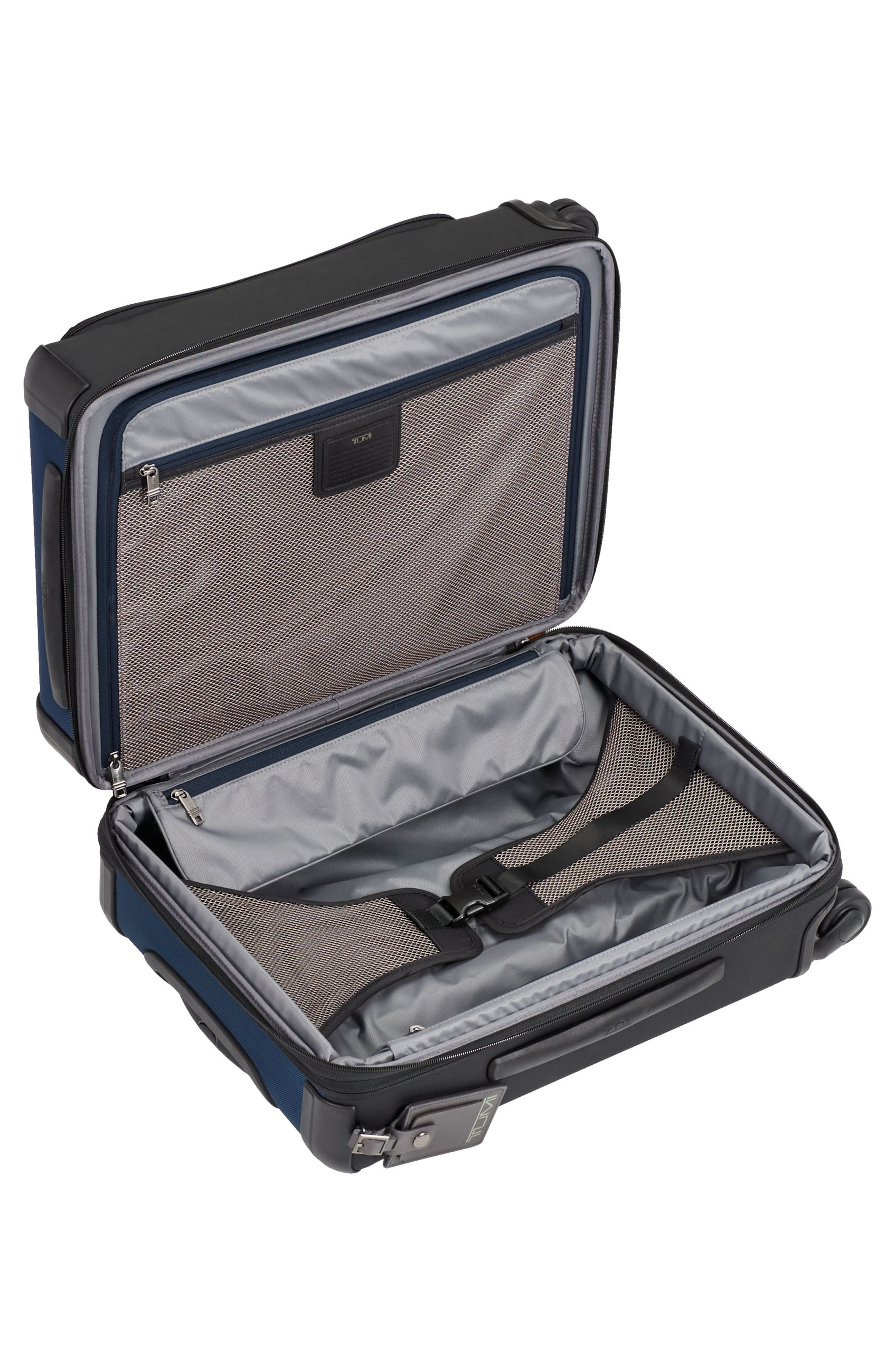 Alpha 2 22-Inch Continental Carry-On,                             Alternate thumbnail 2, color,                             Navy/ Black