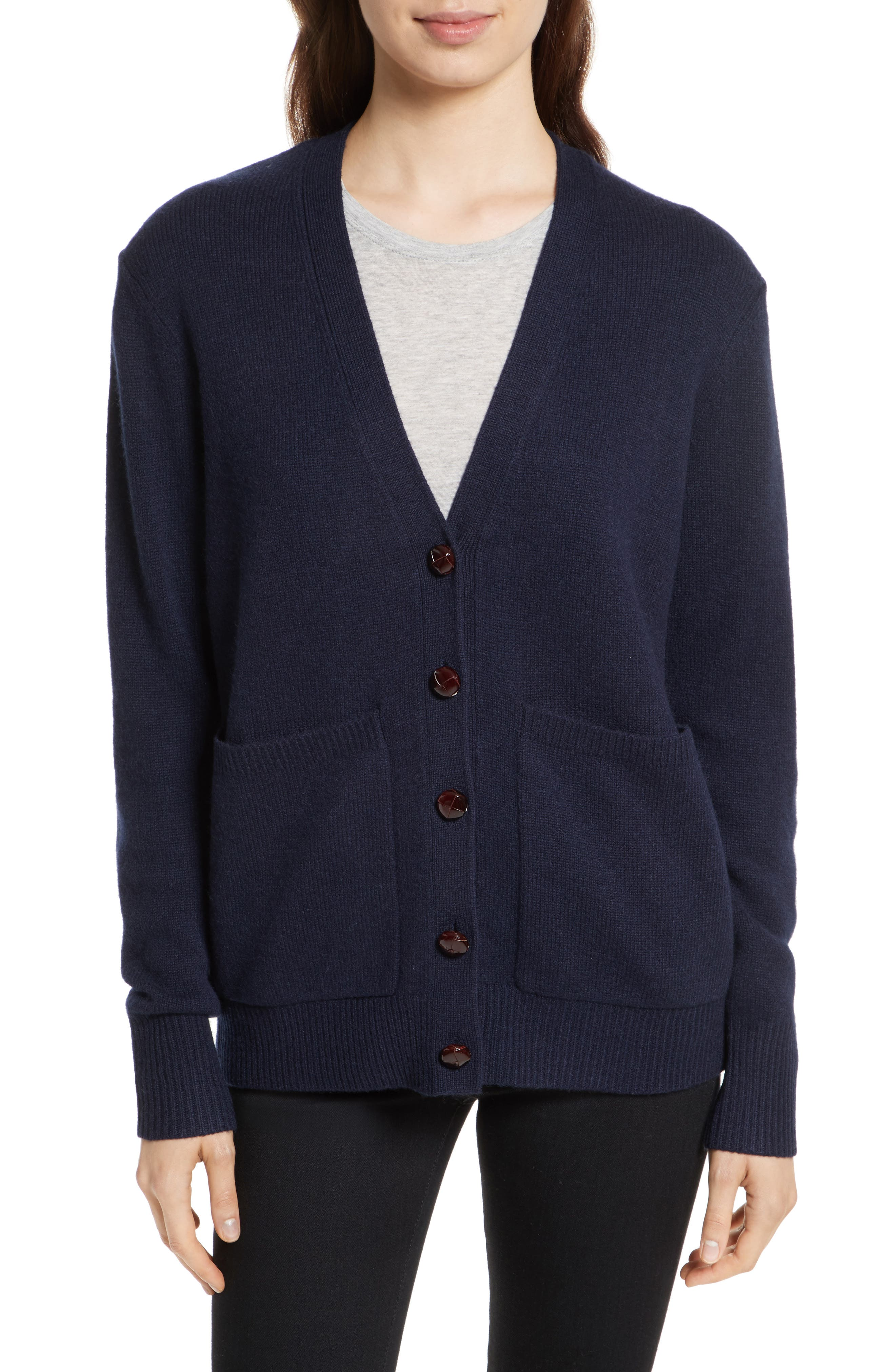 JOSEPH Soft Wool Boyfriend Cardigan