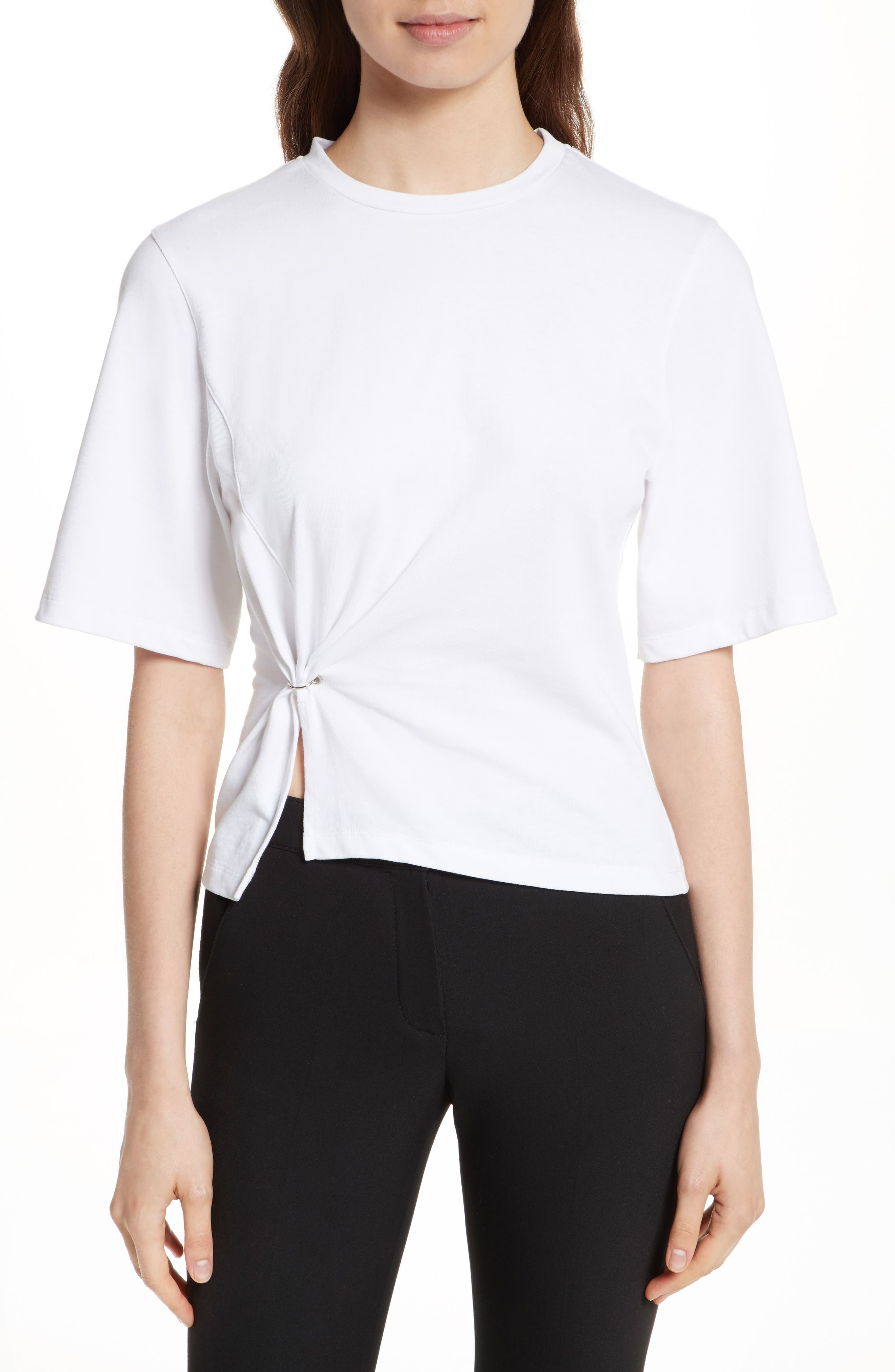 Alternate Image 1 Selected - 3.1 Phillip Lim Pierced Tee