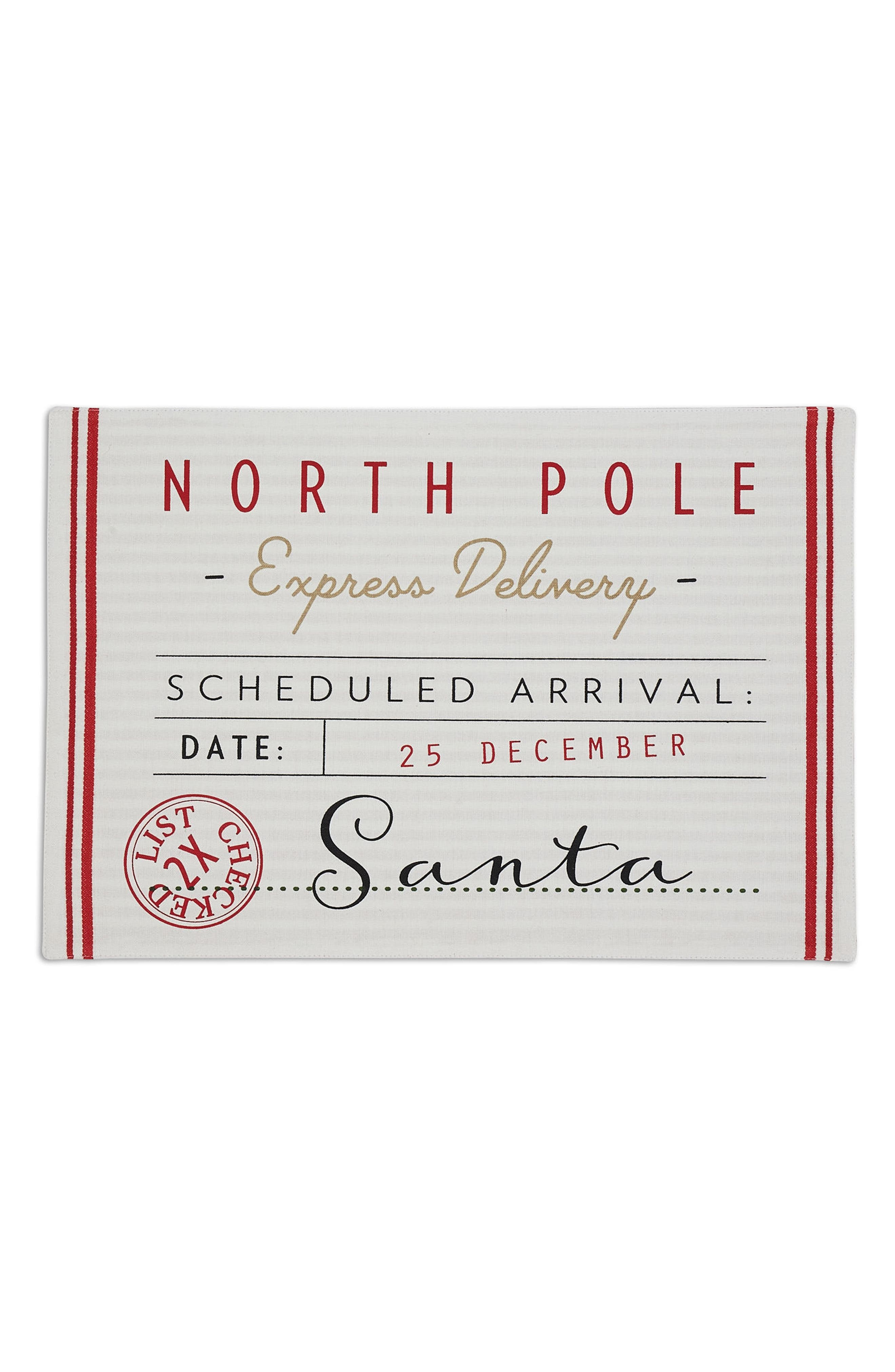 Design Imports North Pole Placemat