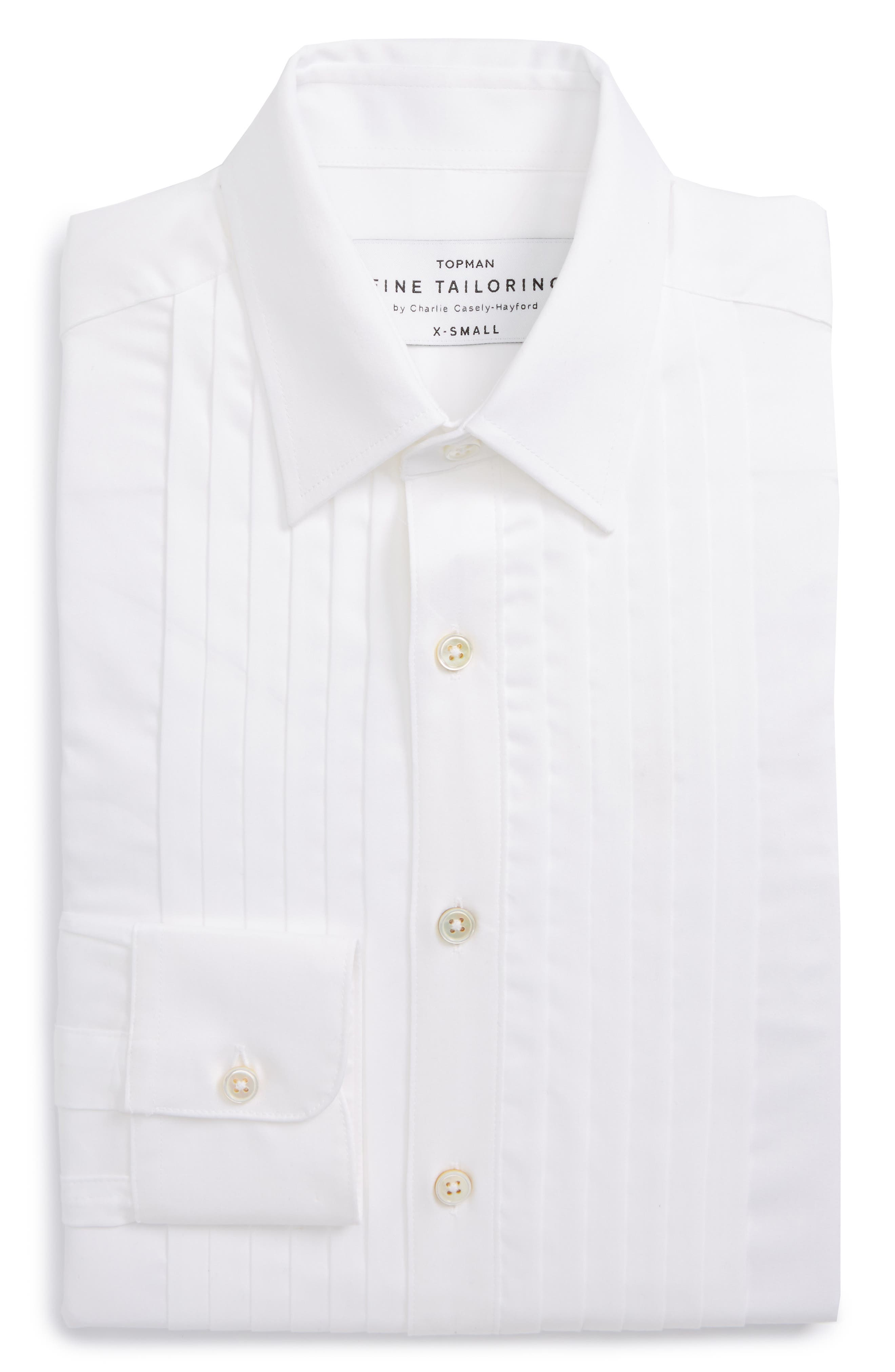 Charlie Casely-Hayford x Topman Skinny Fit Evening Shirt