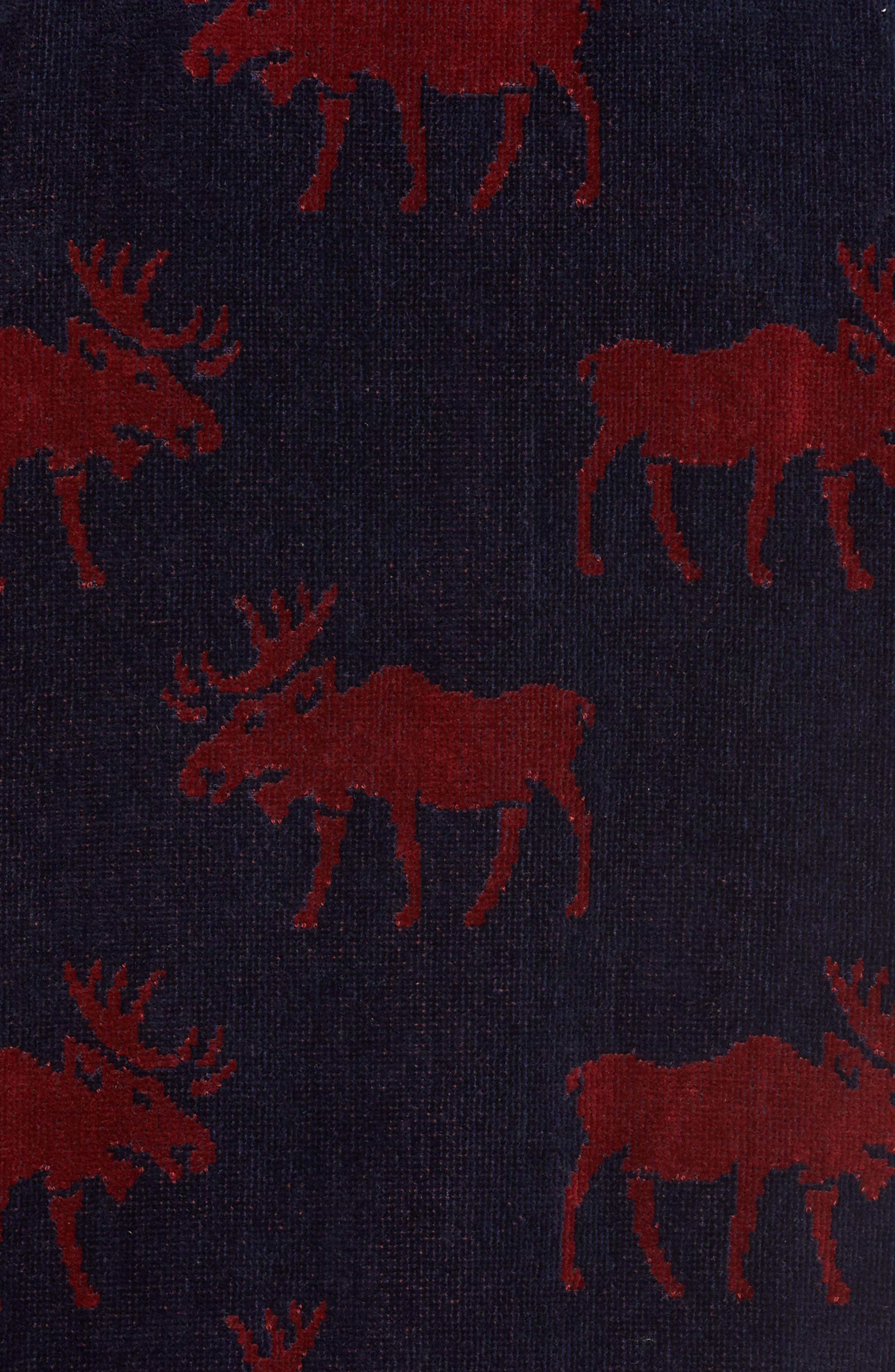 Happy Camper Robe,                             Alternate thumbnail 5, color,                             Moose