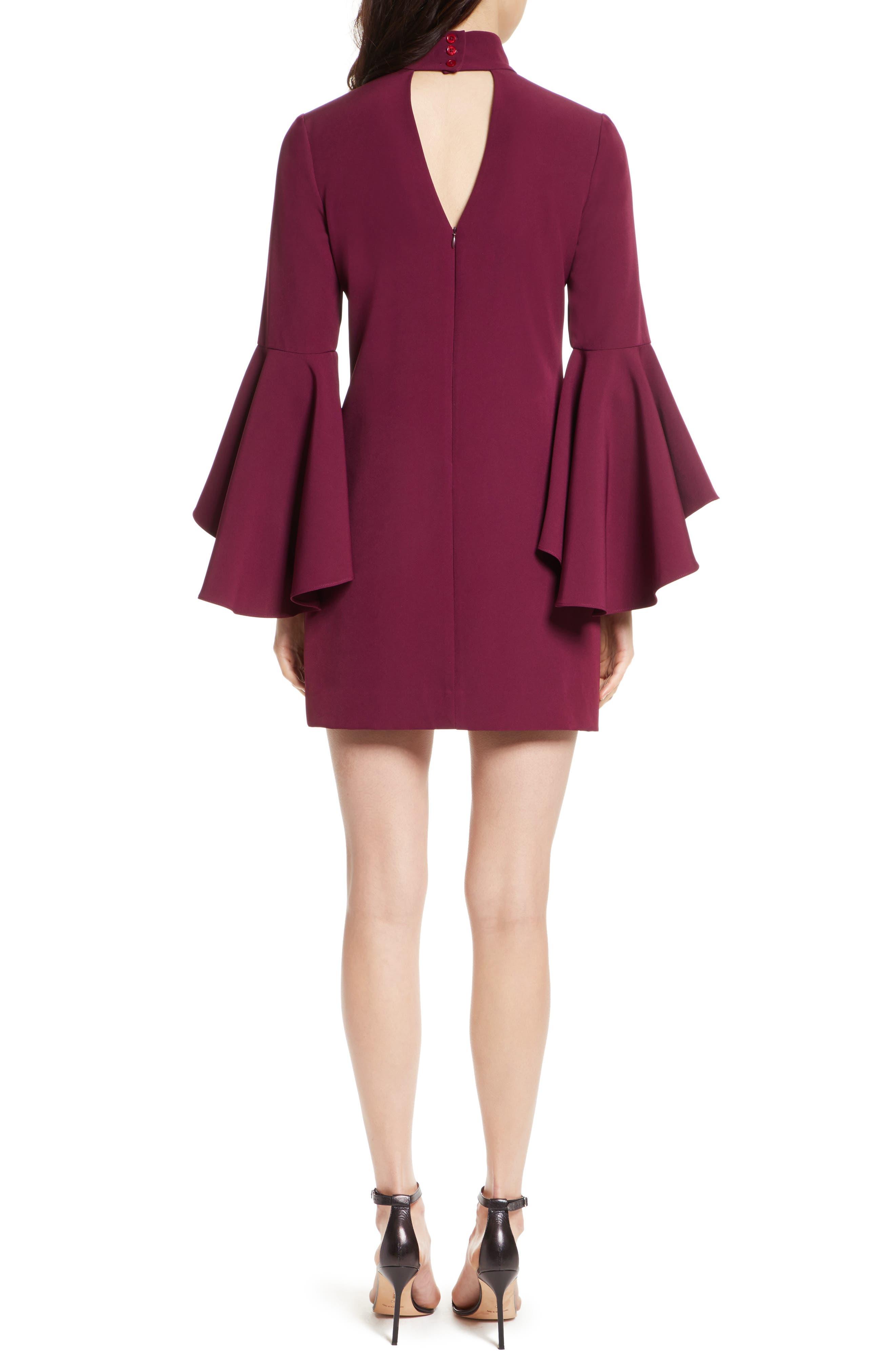 Alternate Image 2  - Milly Andrea Italian Cady A-Line Dress
