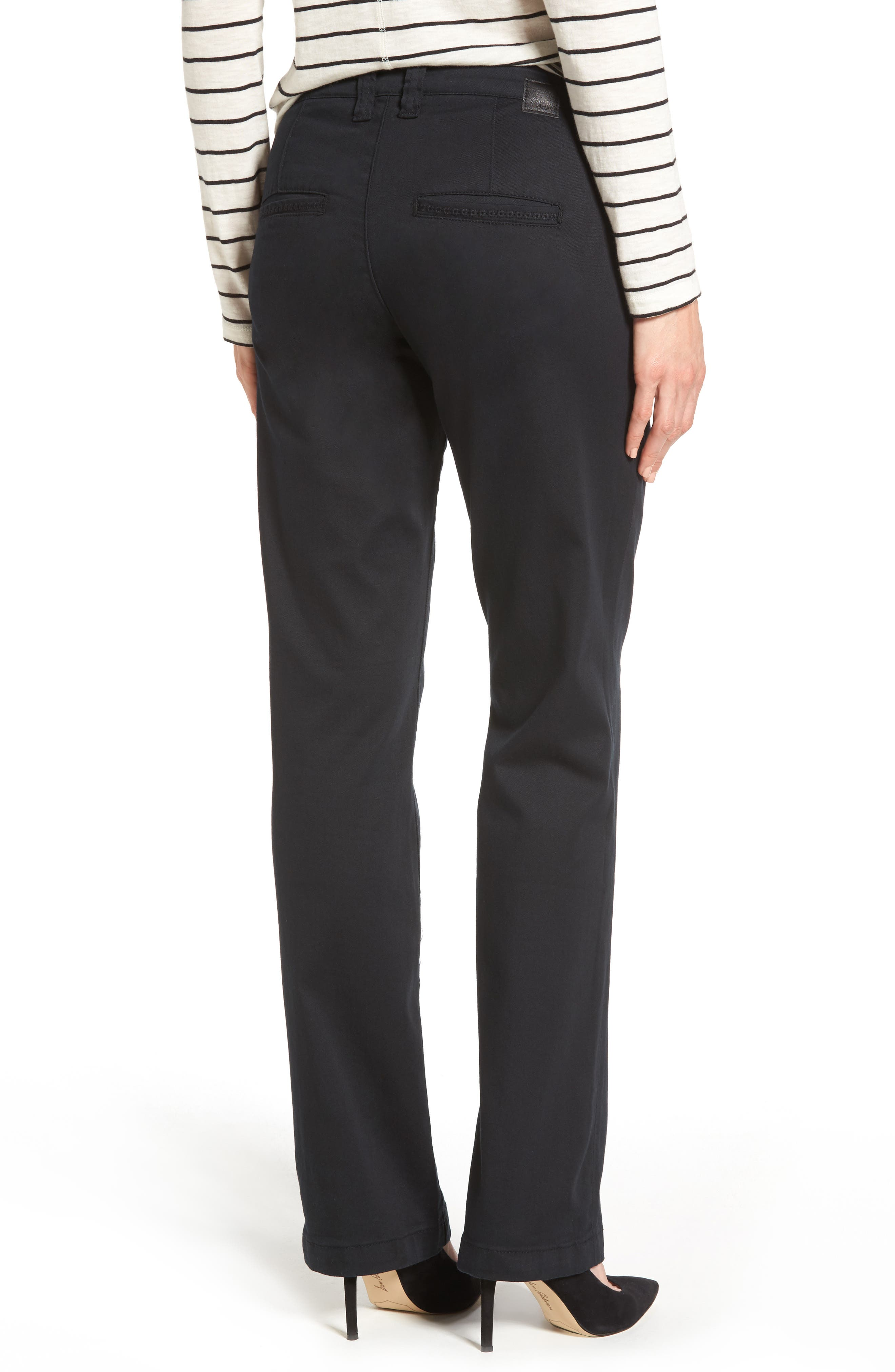 Alternate Image 2  - Jag Jeans Standard Stretch Twill Trousers (Regular & Petite)