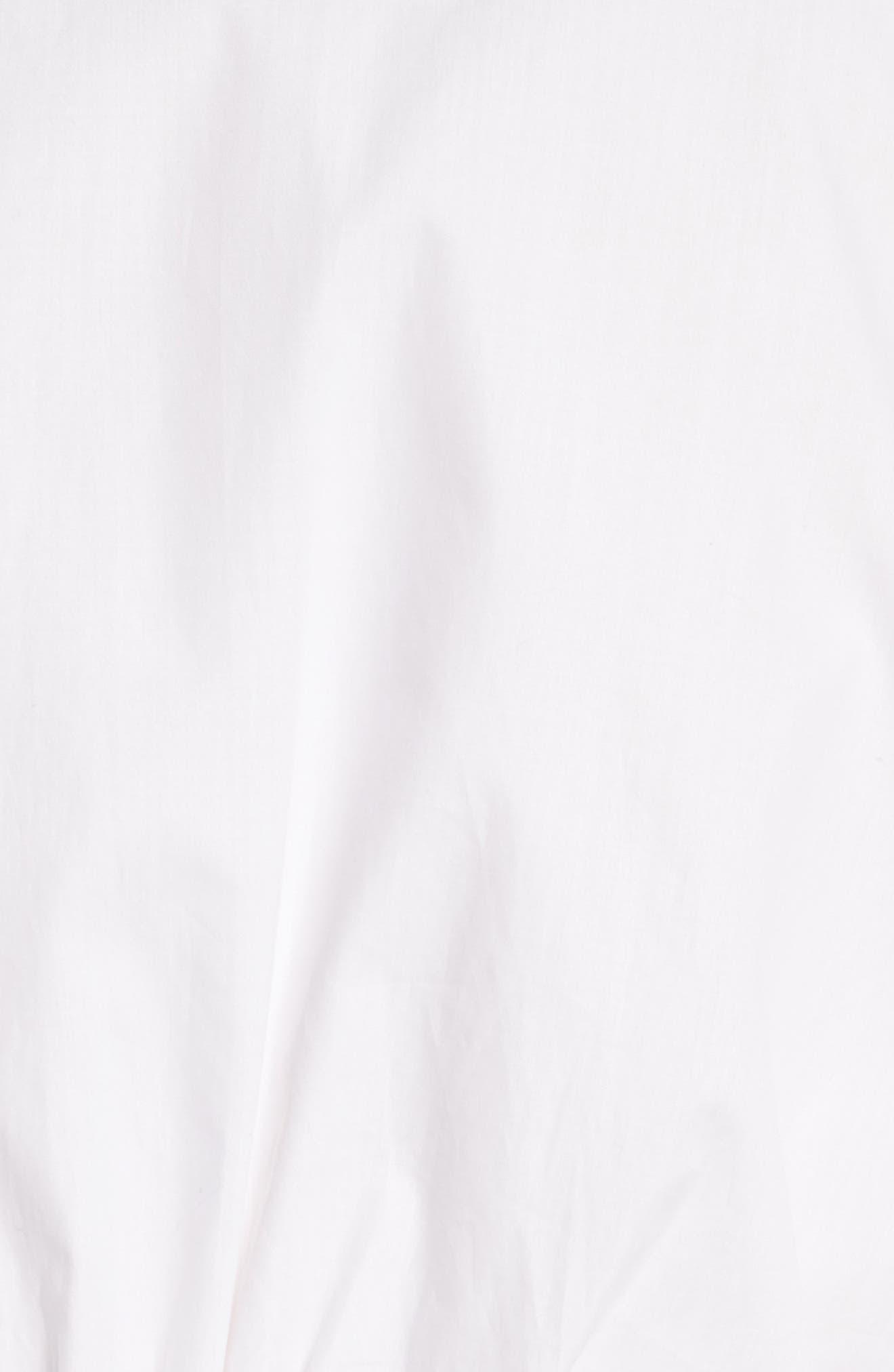 Alternate Image 5  - Colovos Stitch Detail Poplin Blouse