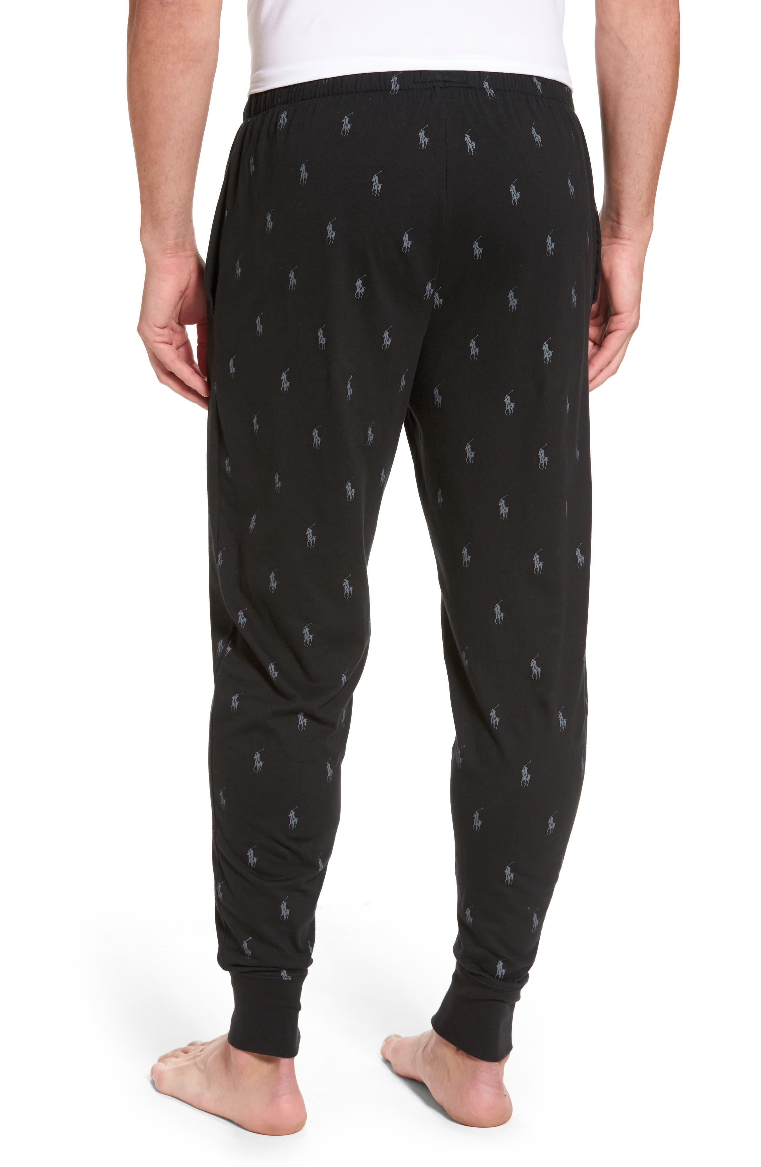 Alternate Image 2  - Polo Ralph Lauren Pony Print Lounge Pants