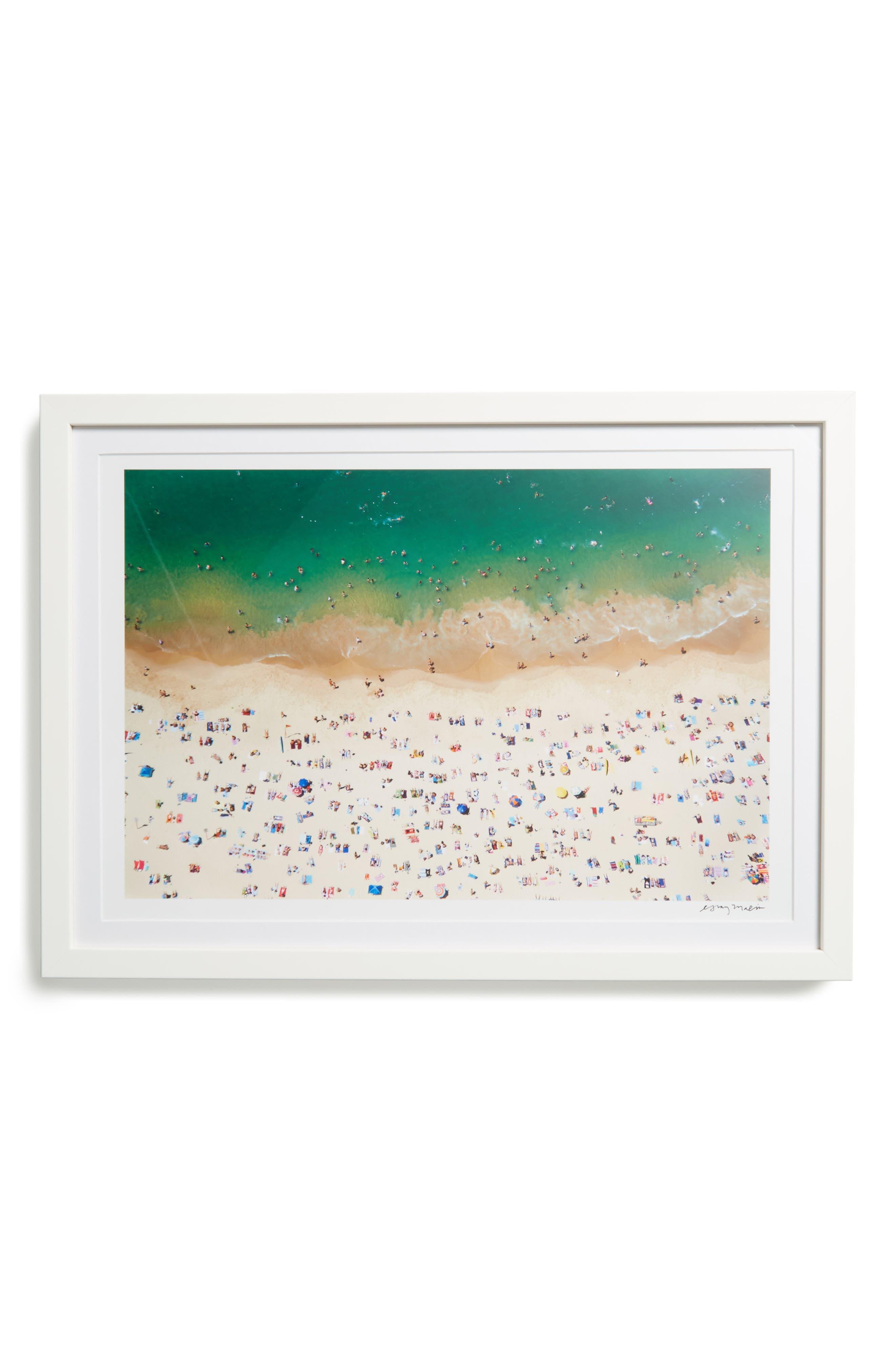 Gray Malin Coogee Beach Framed Art Print
