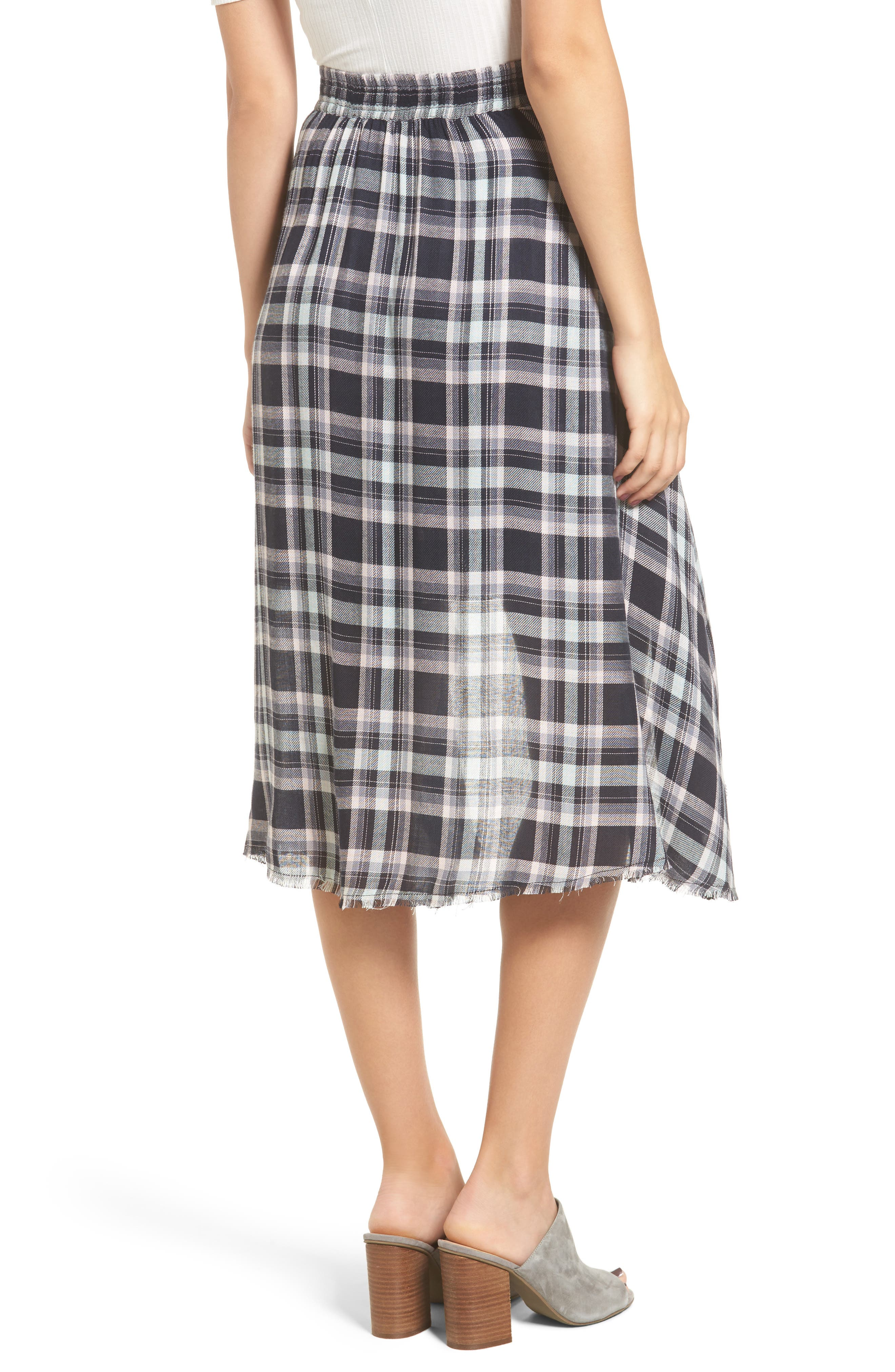 Alternate Image 2  - Somedays Lovin When We Wake Plaid Skirt