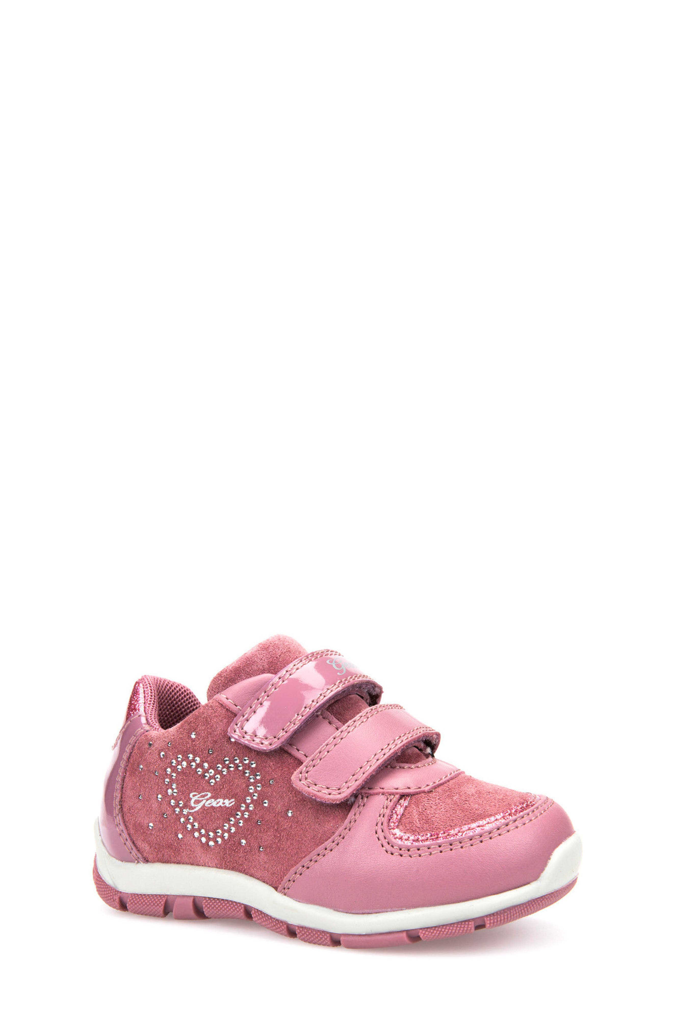 Geox Shaax Love Sneaker (Walker & Toddler)
