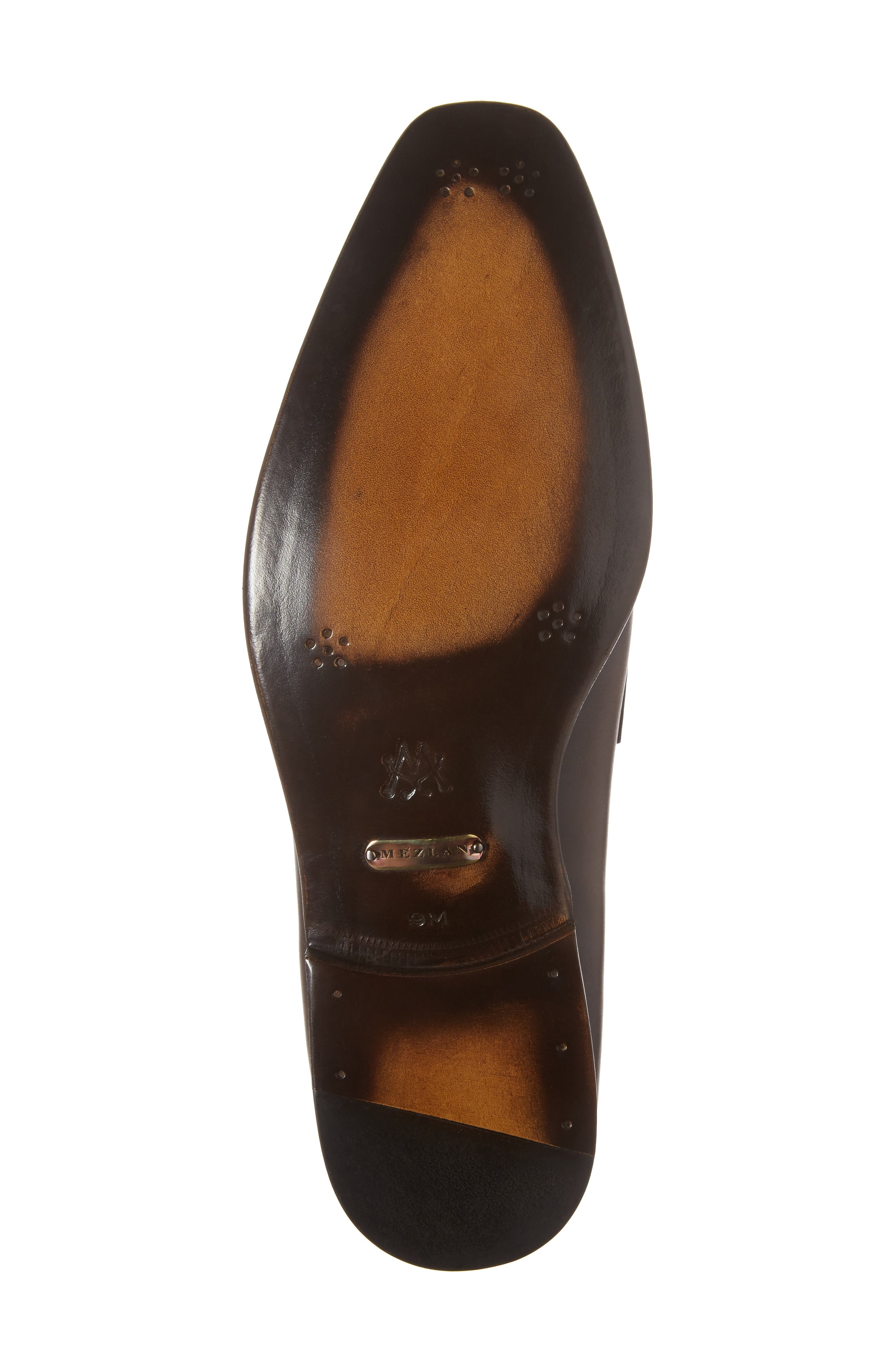 Claude Penny Loafer,                             Alternate thumbnail 6, color,                             Brown Leather
