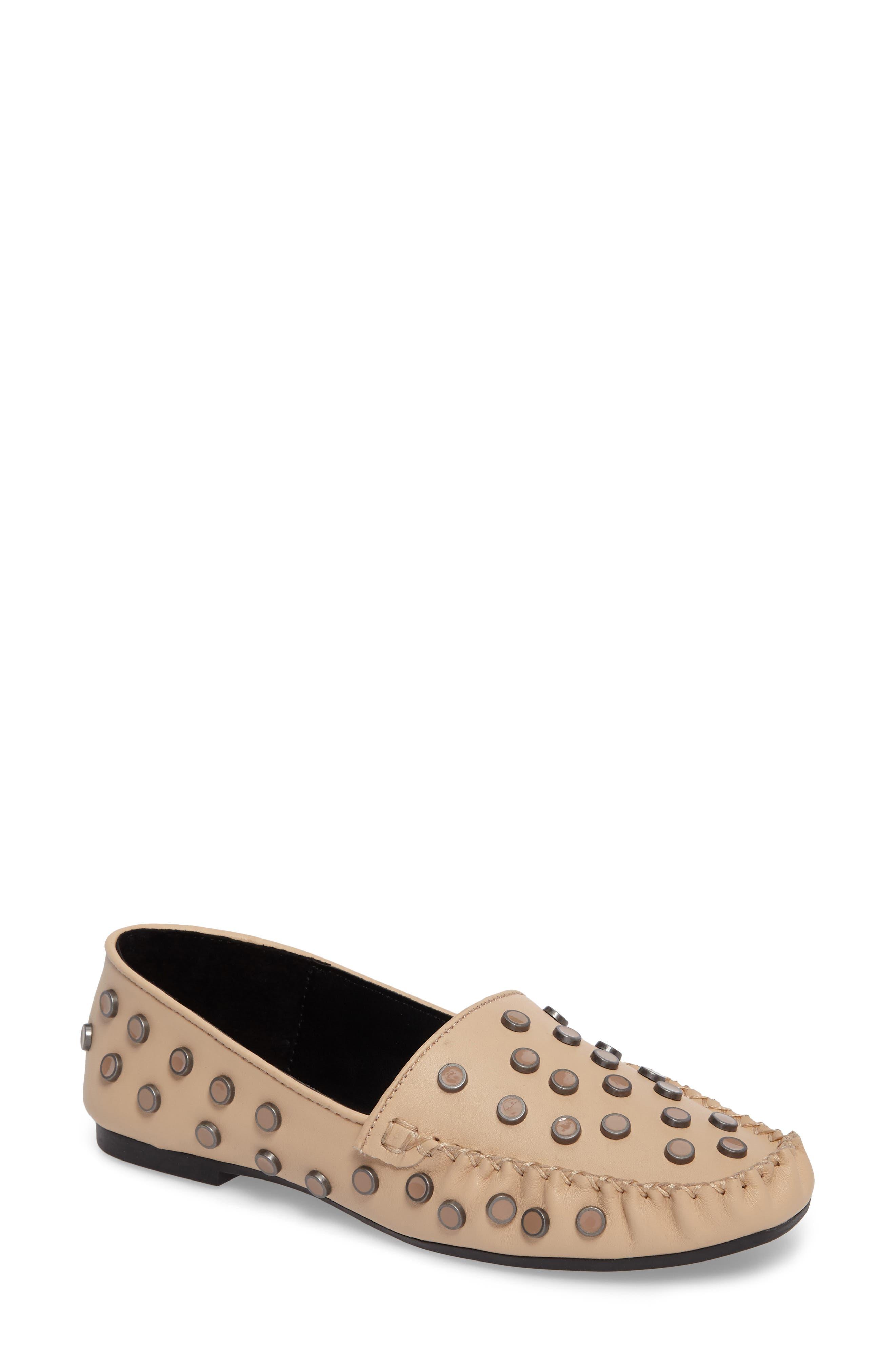 M4D3 Conneticut Loafer,                             Main thumbnail 1, color,                             Bisque Leather