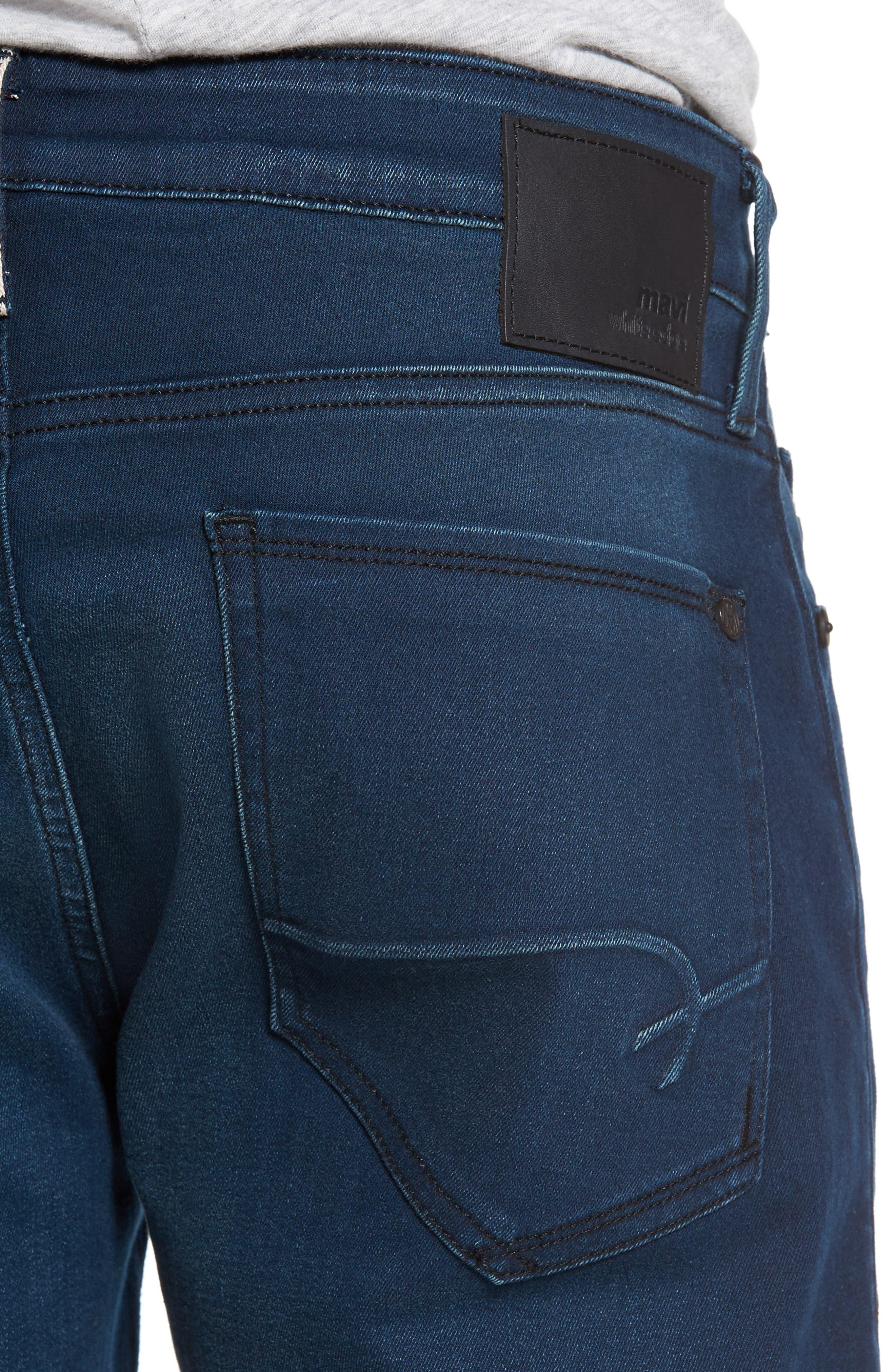 Jake Slim Fit Jeans,                             Alternate thumbnail 4, color,                             Ink Brushed Williamsburg