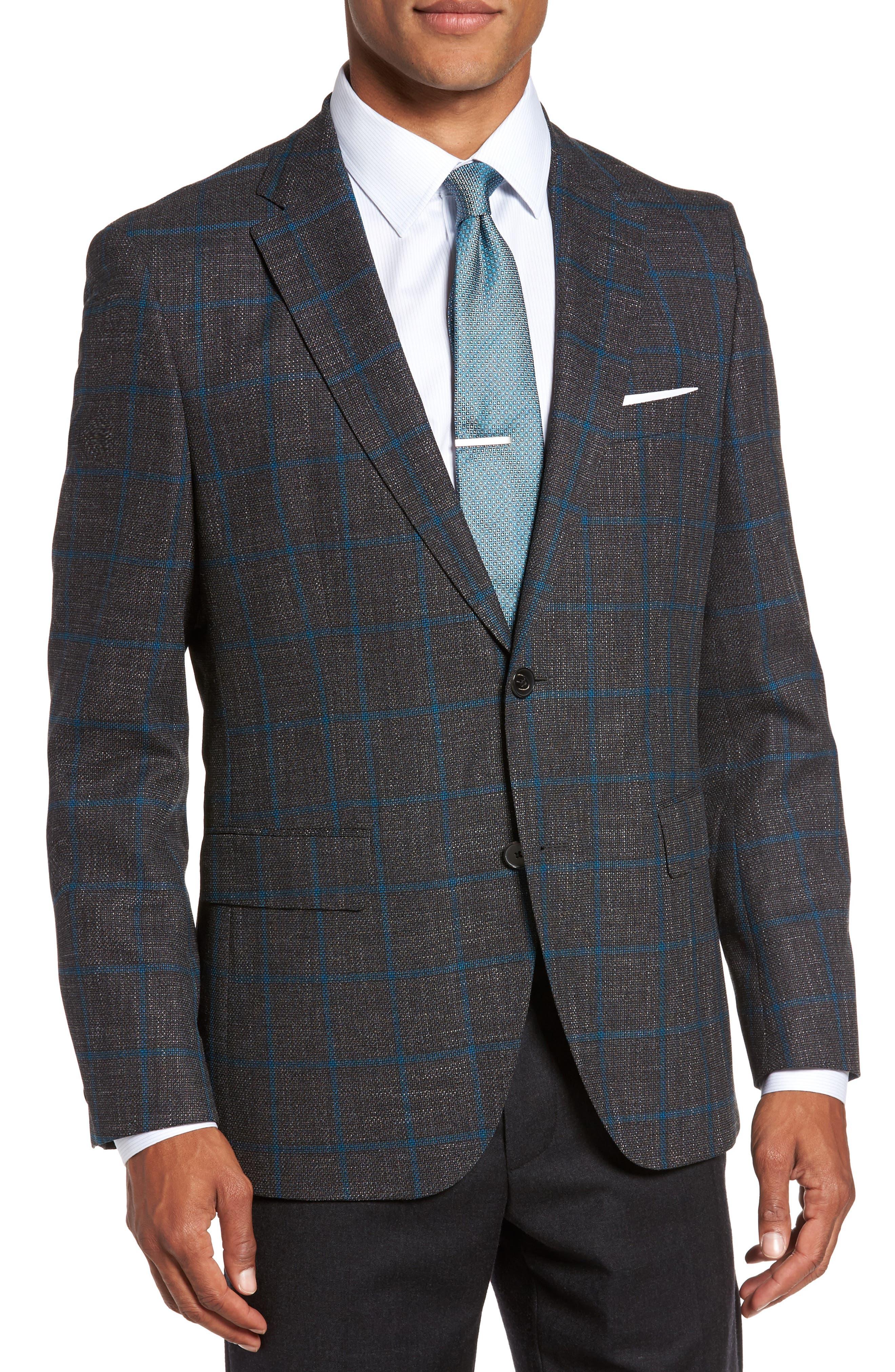 BOSS Jeen Classic Fit Wool Sport Coat