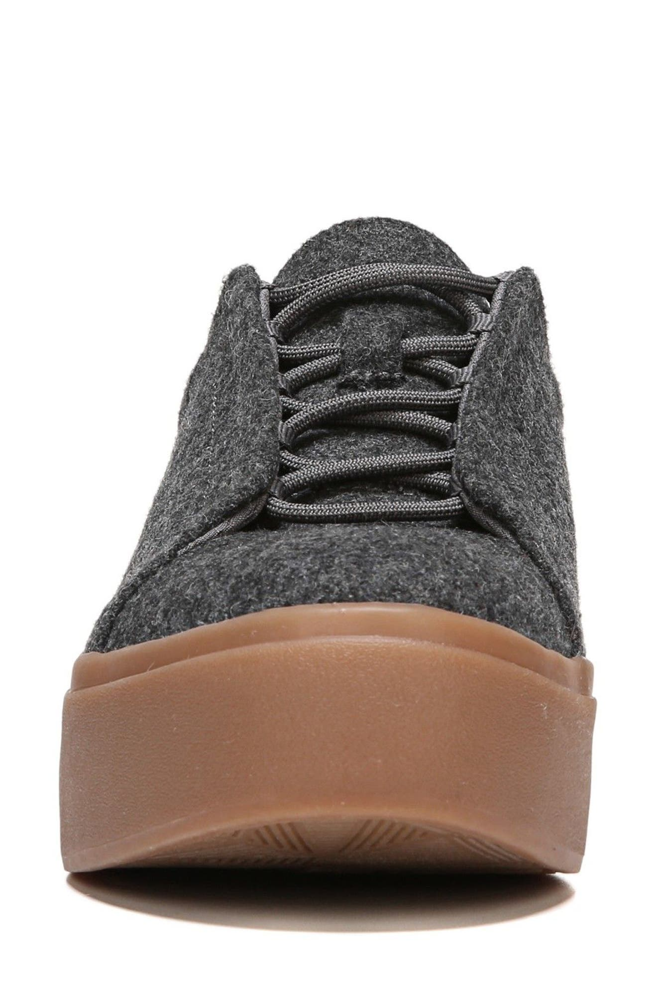 Abbot Sneaker,                             Alternate thumbnail 4, color,                             Charcoal Fabric