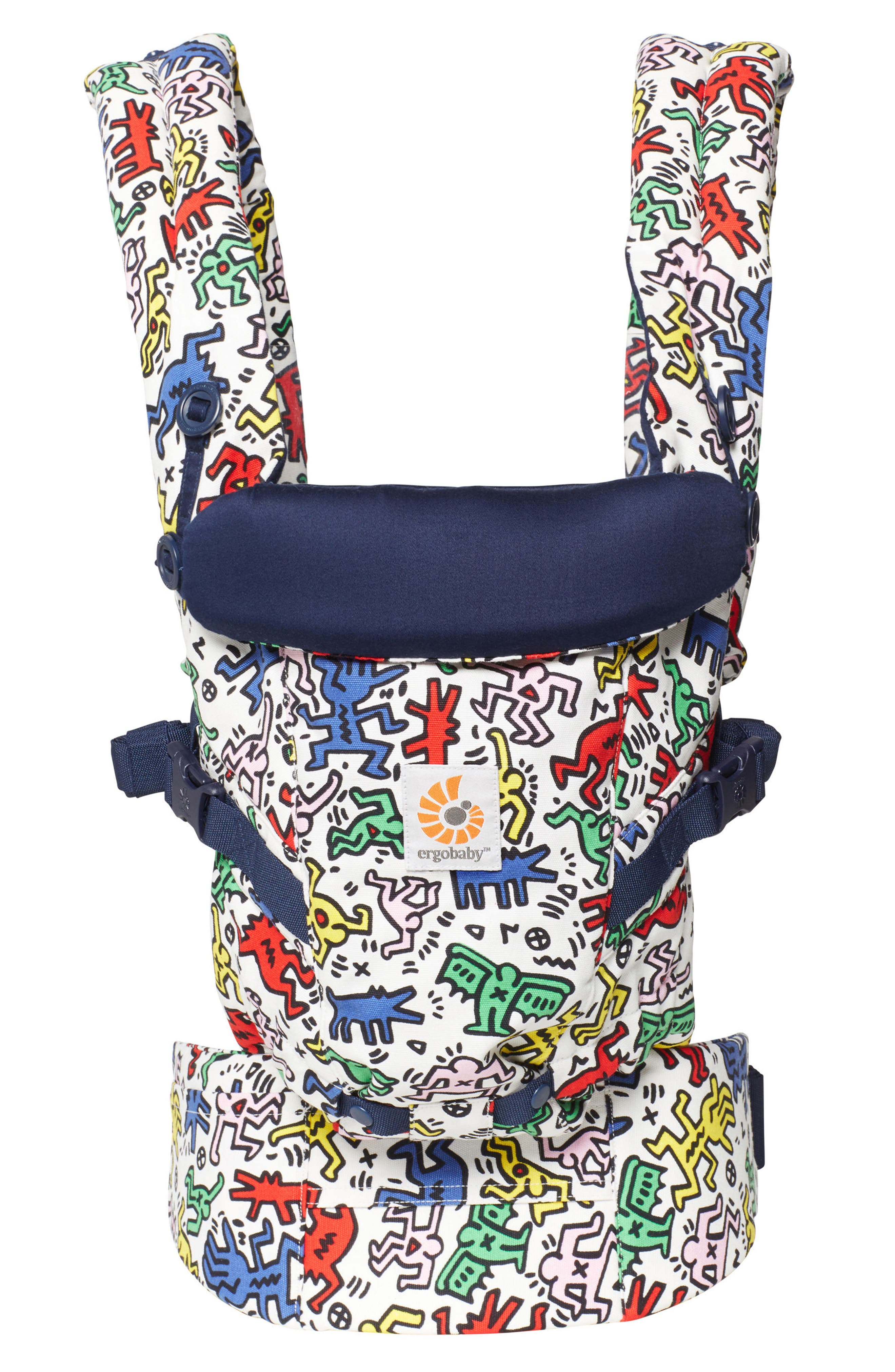 Alternate Image 1 Selected - ERGObaby Special Edition Keith Haring Three Position ADAPT Baby Carrier