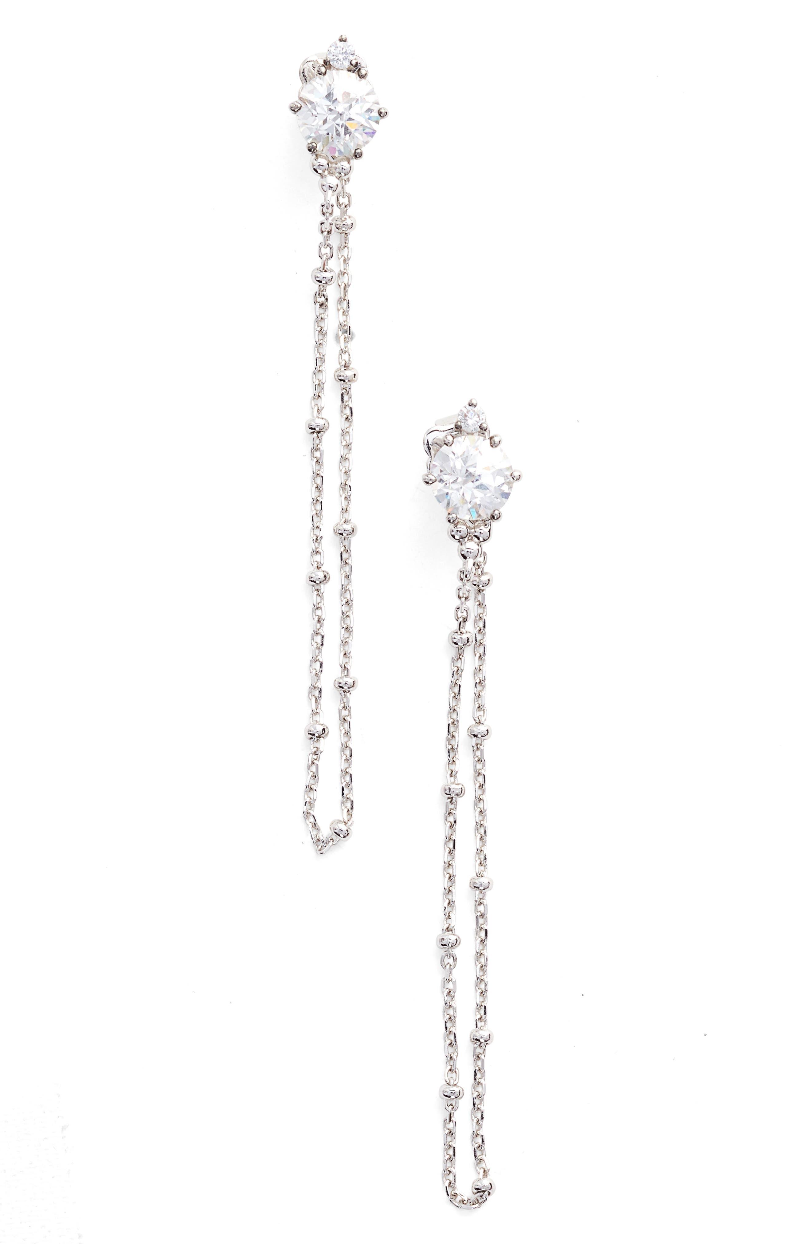 Main Image - Nadri Cardamom Chain Earrings