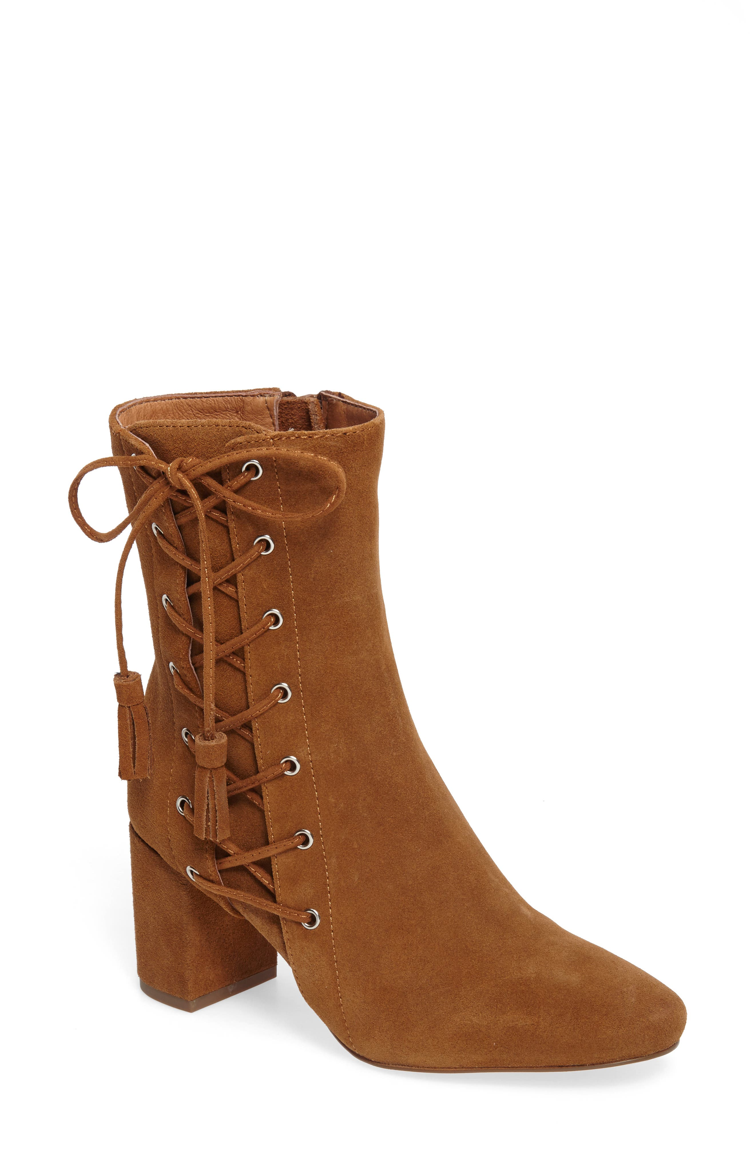 Alternate Image 1 Selected - Matisse Harp Lace-Up Bootie (Women)
